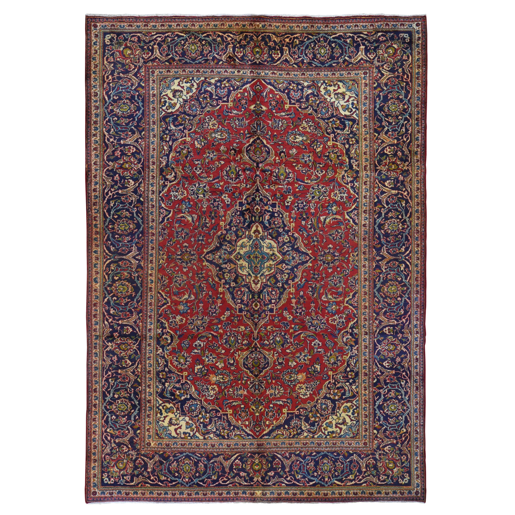 Classic Persian Collection Hand Knotted Red Rug No: 199636