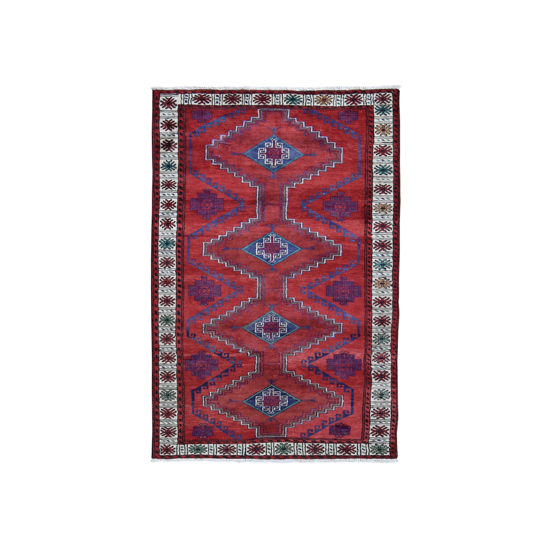 Classic Persian Collection Hand Knotted Red Rug No: 0199644