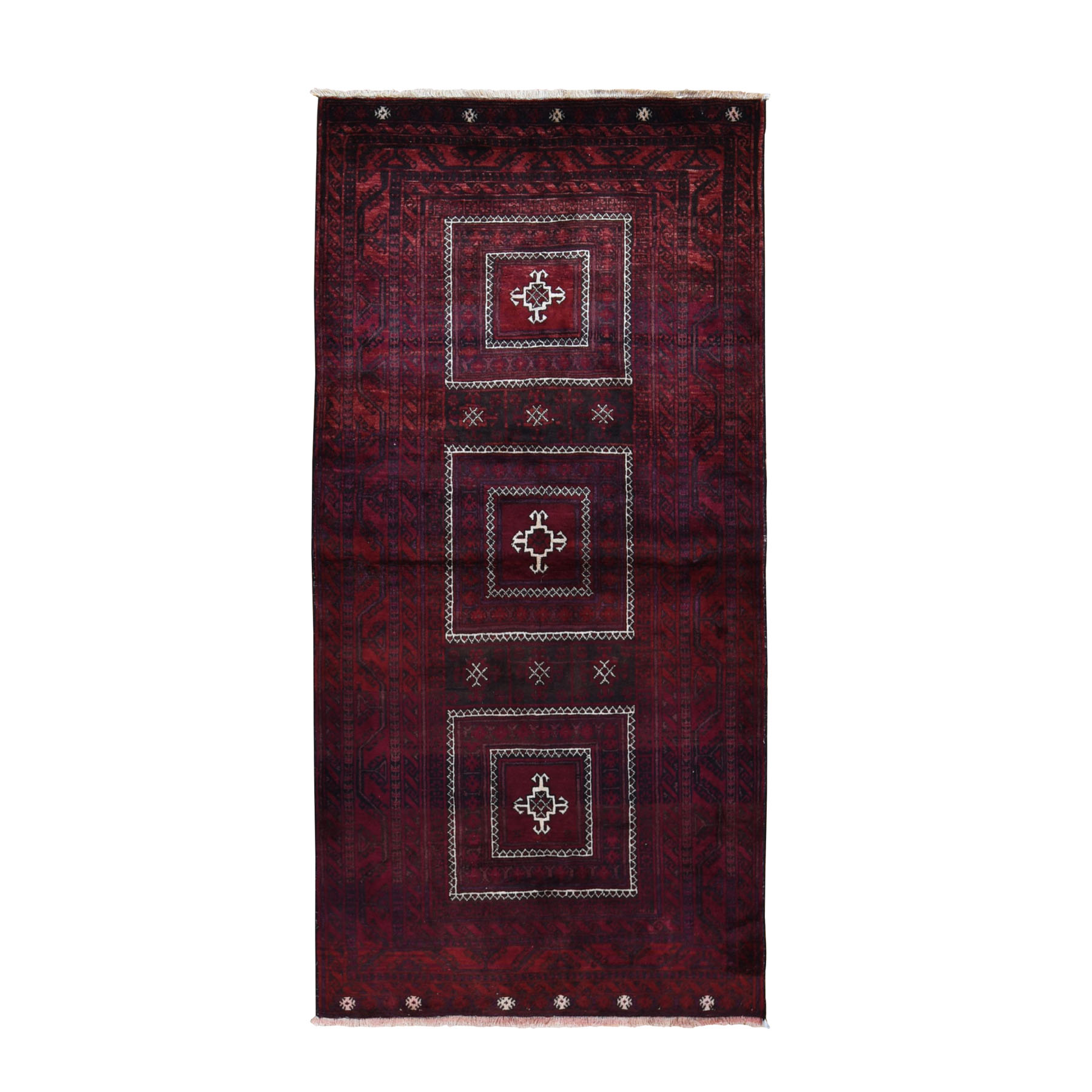 Classic Persian Collection Hand Knotted Red Rug No: 0199648