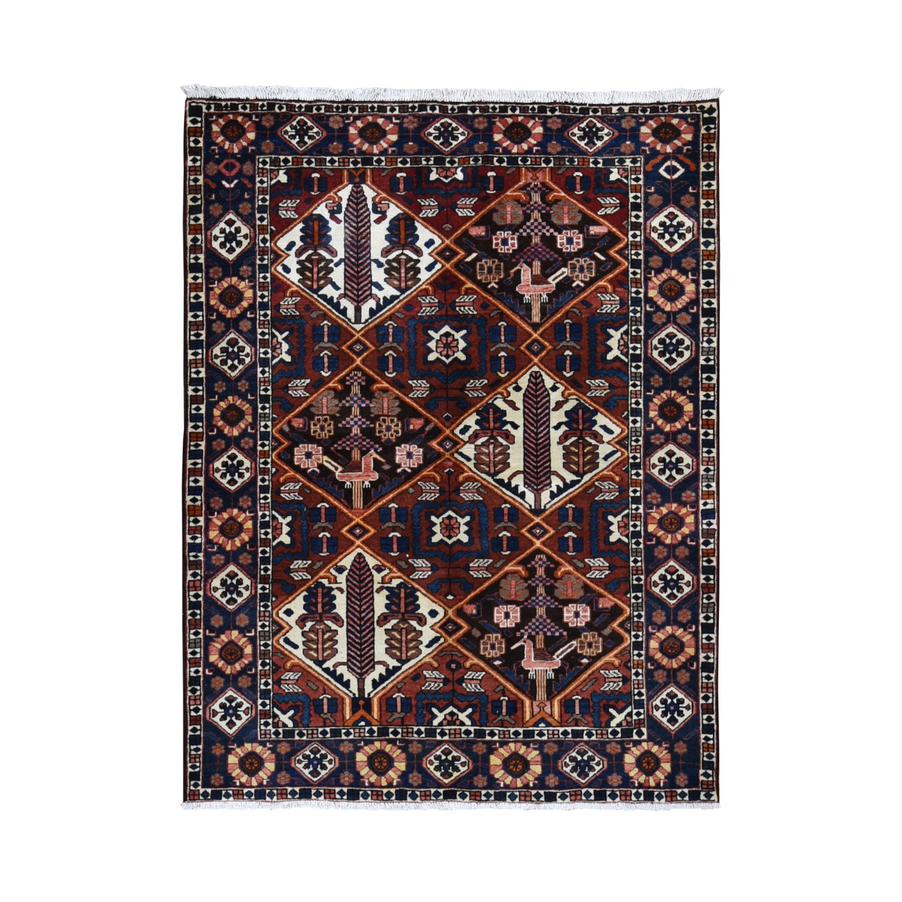 Classic Persian Collection Hand Knotted Red Rug No: 0199658