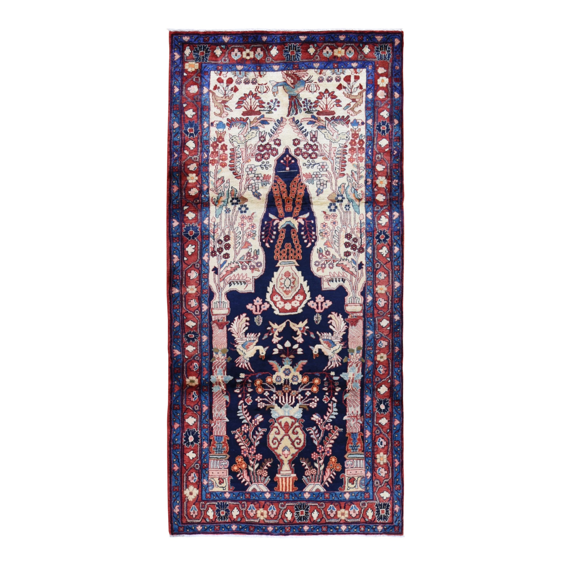 Classic Persian Collection Hand Knotted Ivory Rug No: 199662