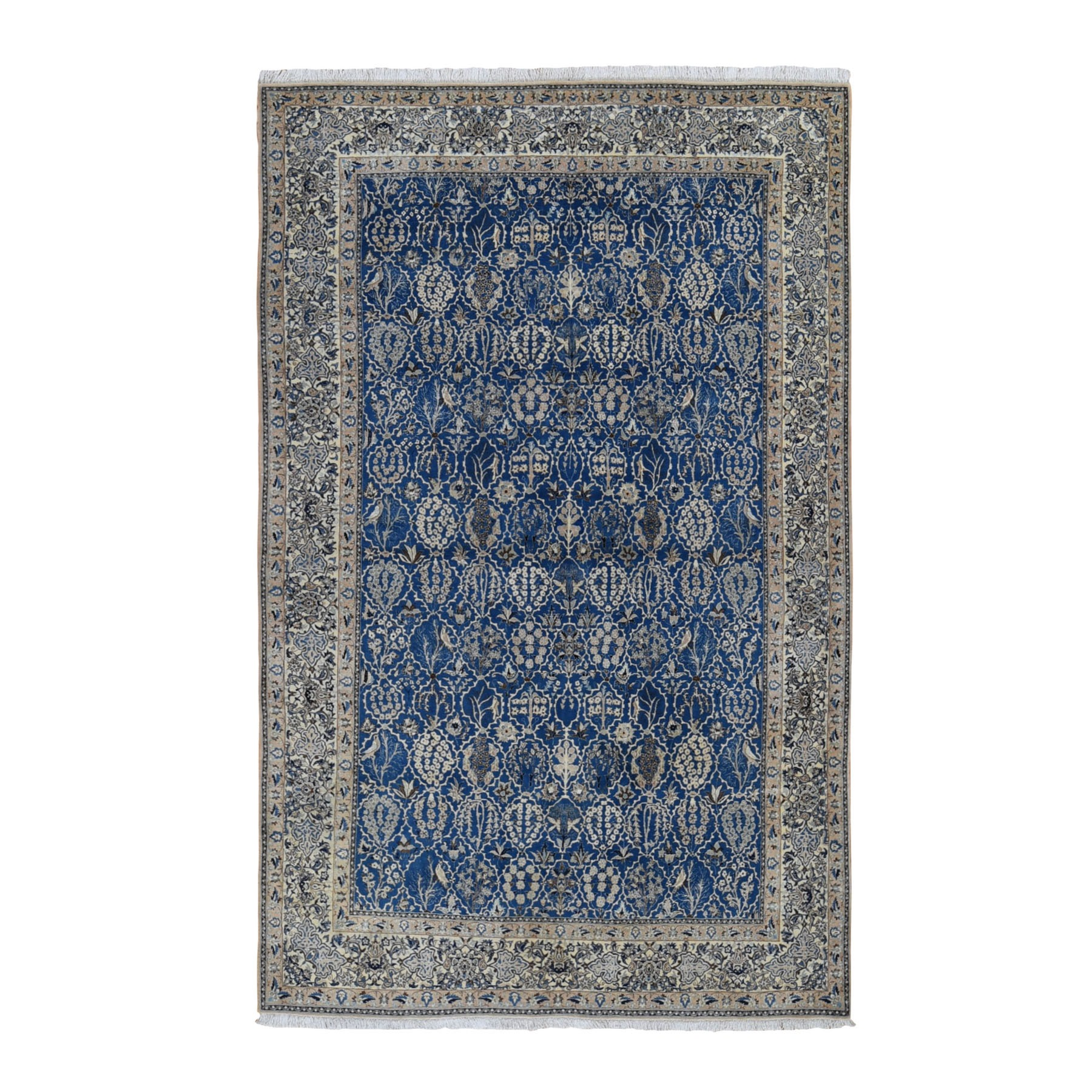 Classic Persian Collection Hand Knotted Blue Rug No: 0199668