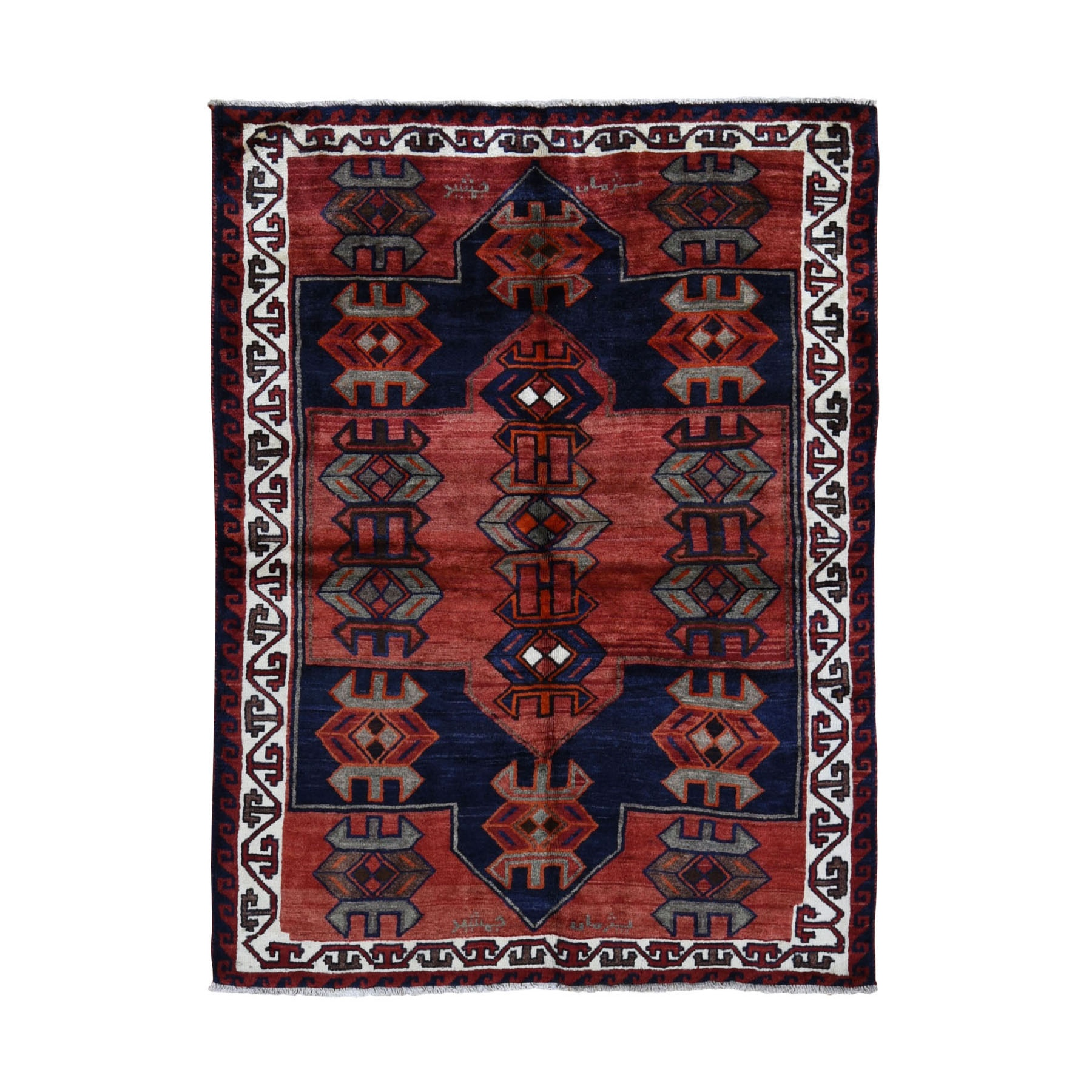 Classic Persian Collection Hand Knotted Red Rug No: 0199672