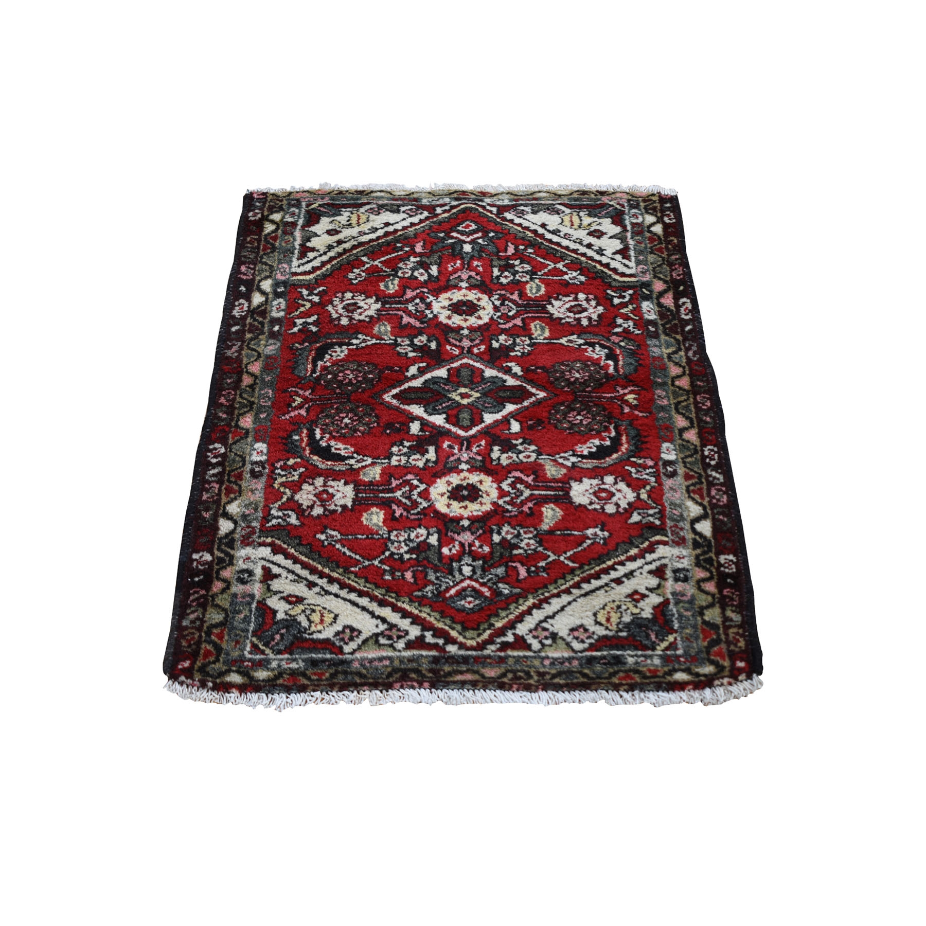 Antique Collection Hand Knotted Red Rug No: 0199674