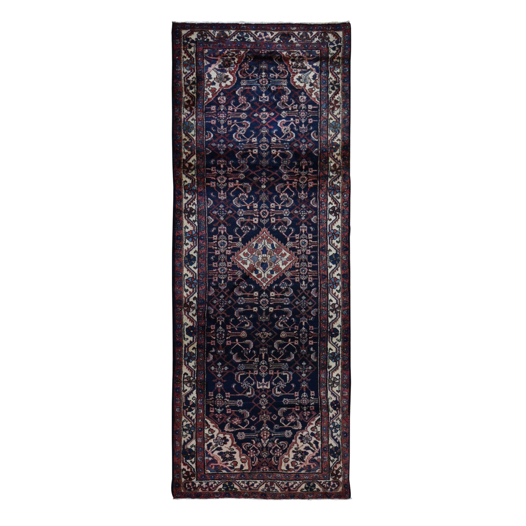Classic Persian Collection Hand Knotted Blue Rug No: 0198504