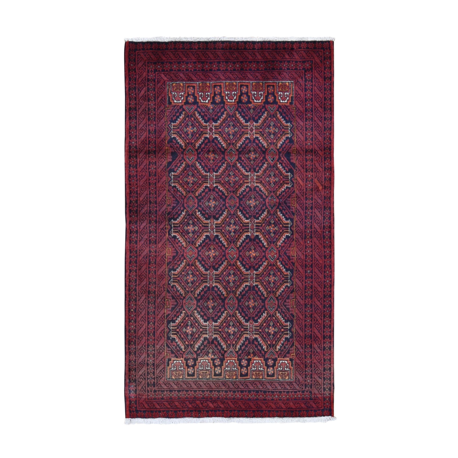 Classic Persian Collection Hand Knotted Red Rug No: 199706
