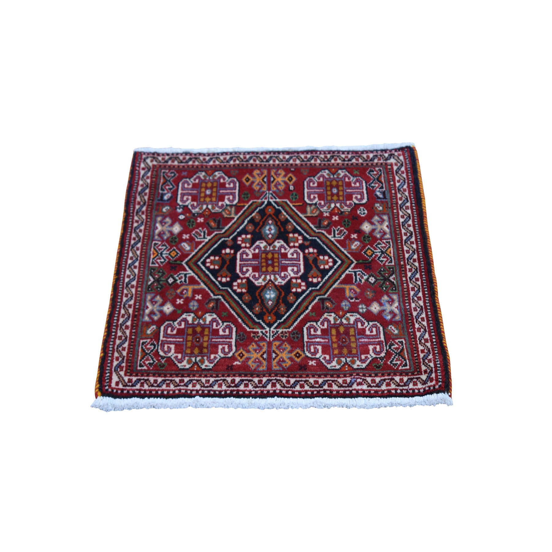 Classic Persian Collection Hand Knotted Red Rug No: 0199682