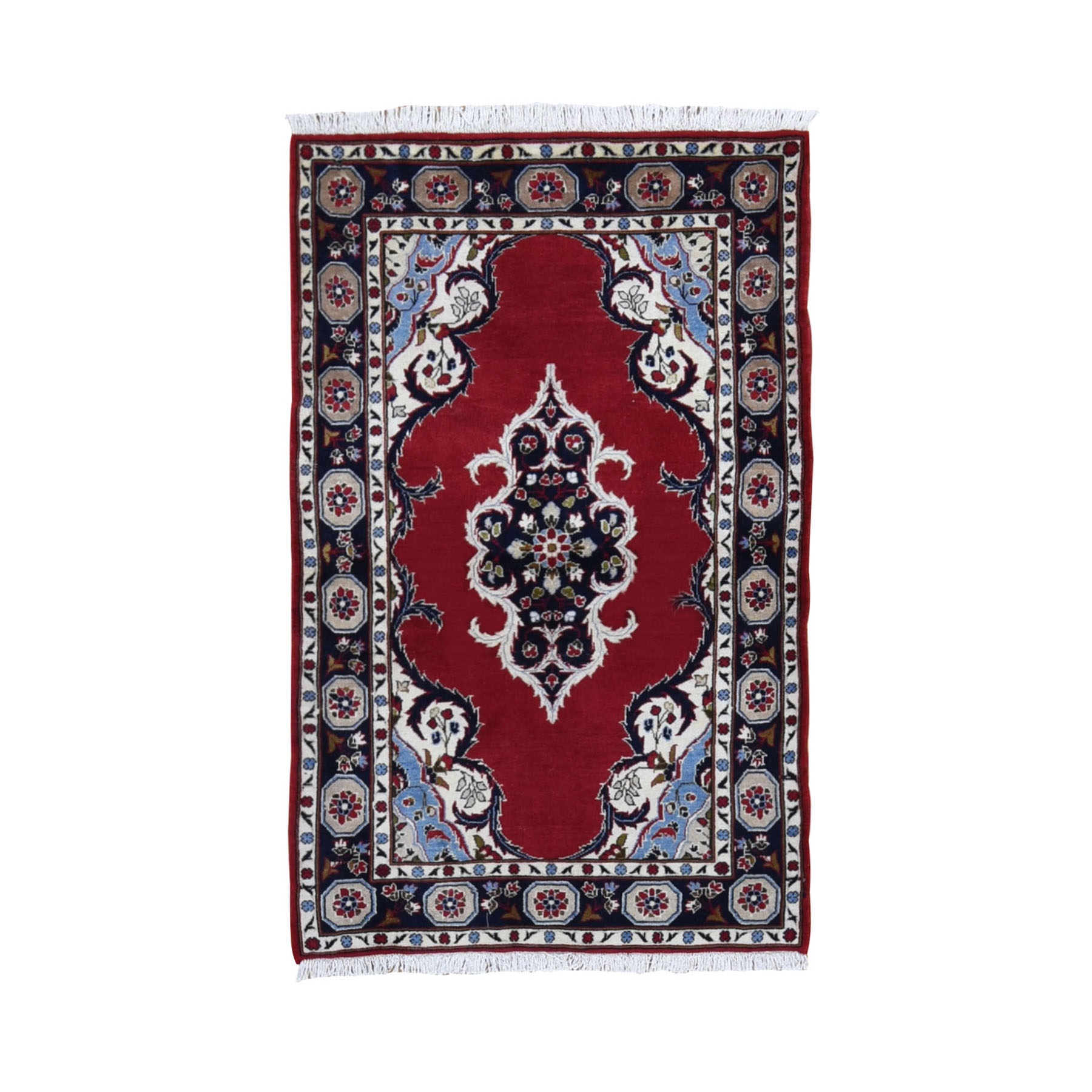 Classic Persian Collection Hand Knotted Red Rug No: 0199684
