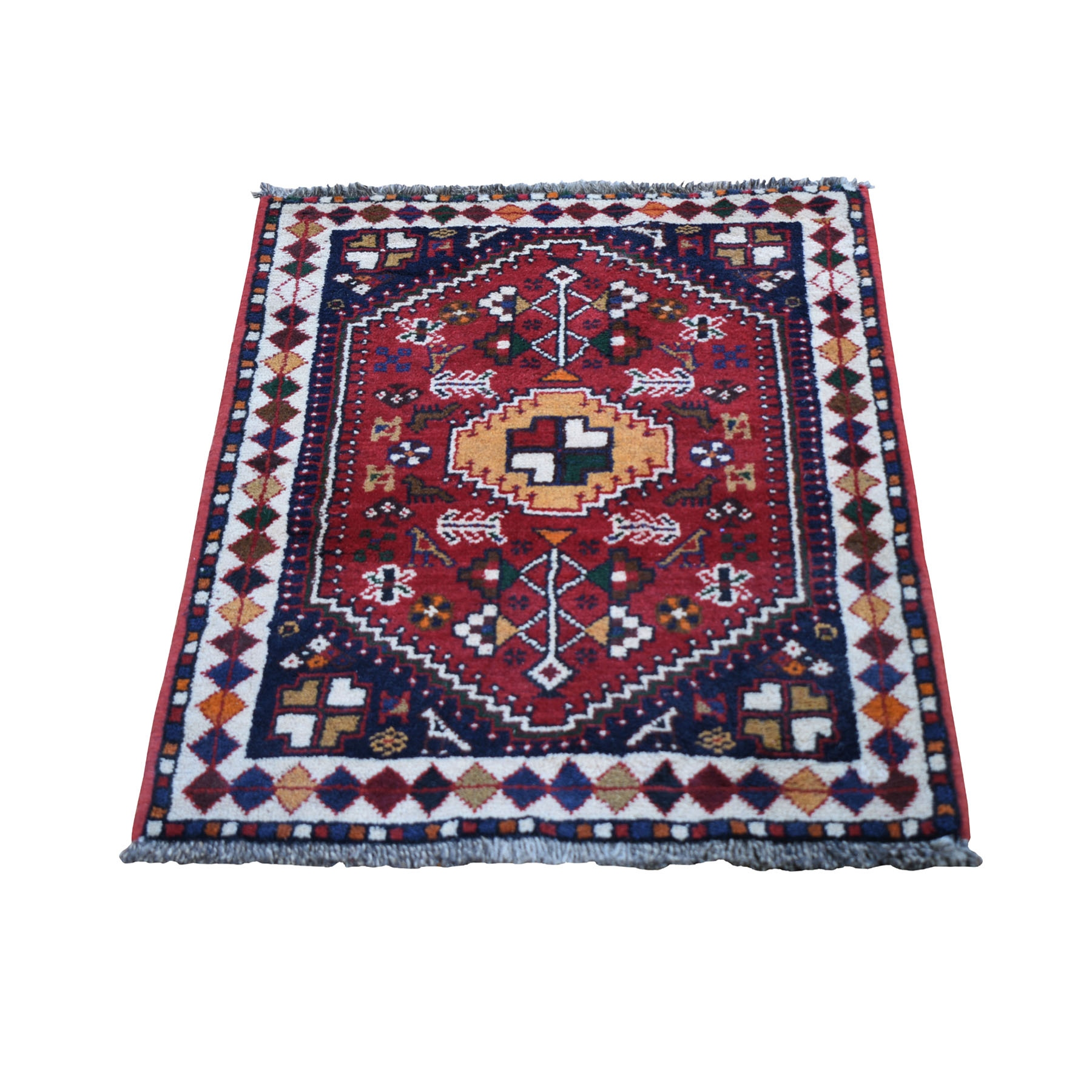 Classic Persian Collection Hand Knotted Red Rug No: 0199688
