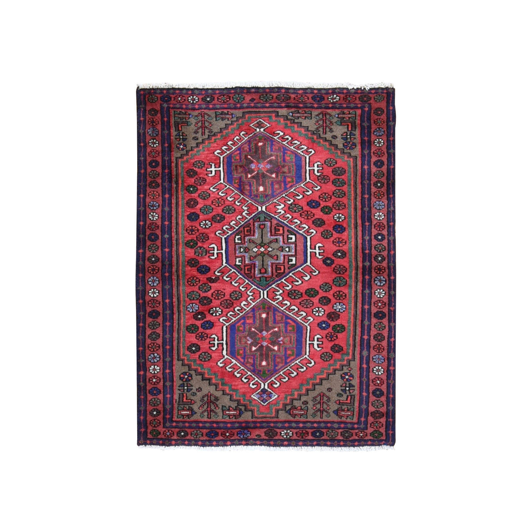 Classic Persian Collection Hand Knotted Red Rug No: 0199694