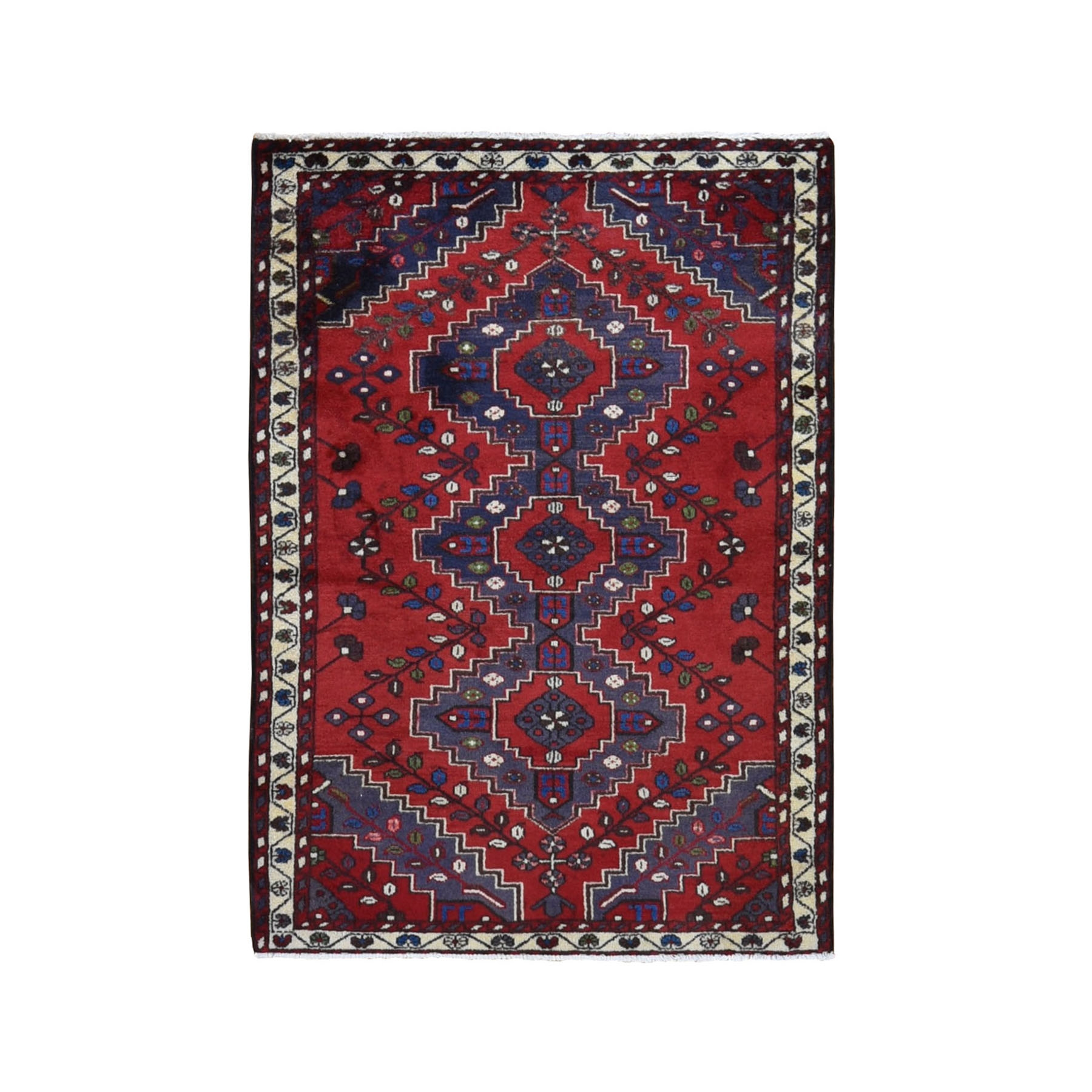 Classic Persian Collection Hand Knotted Red Rug No: 0199696