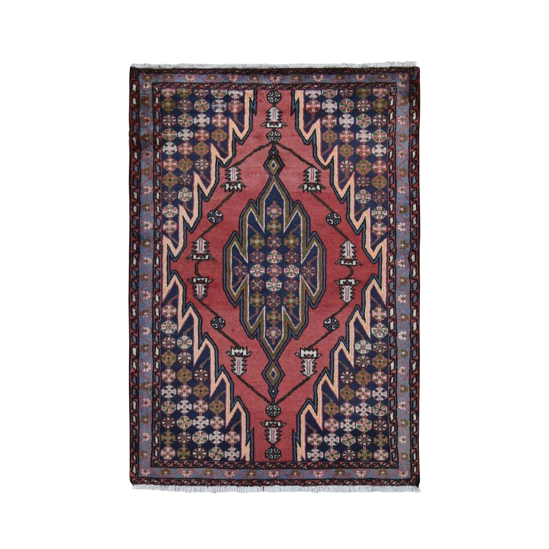 Classic Persian Collection Hand Knotted Red Rug No: 0199700