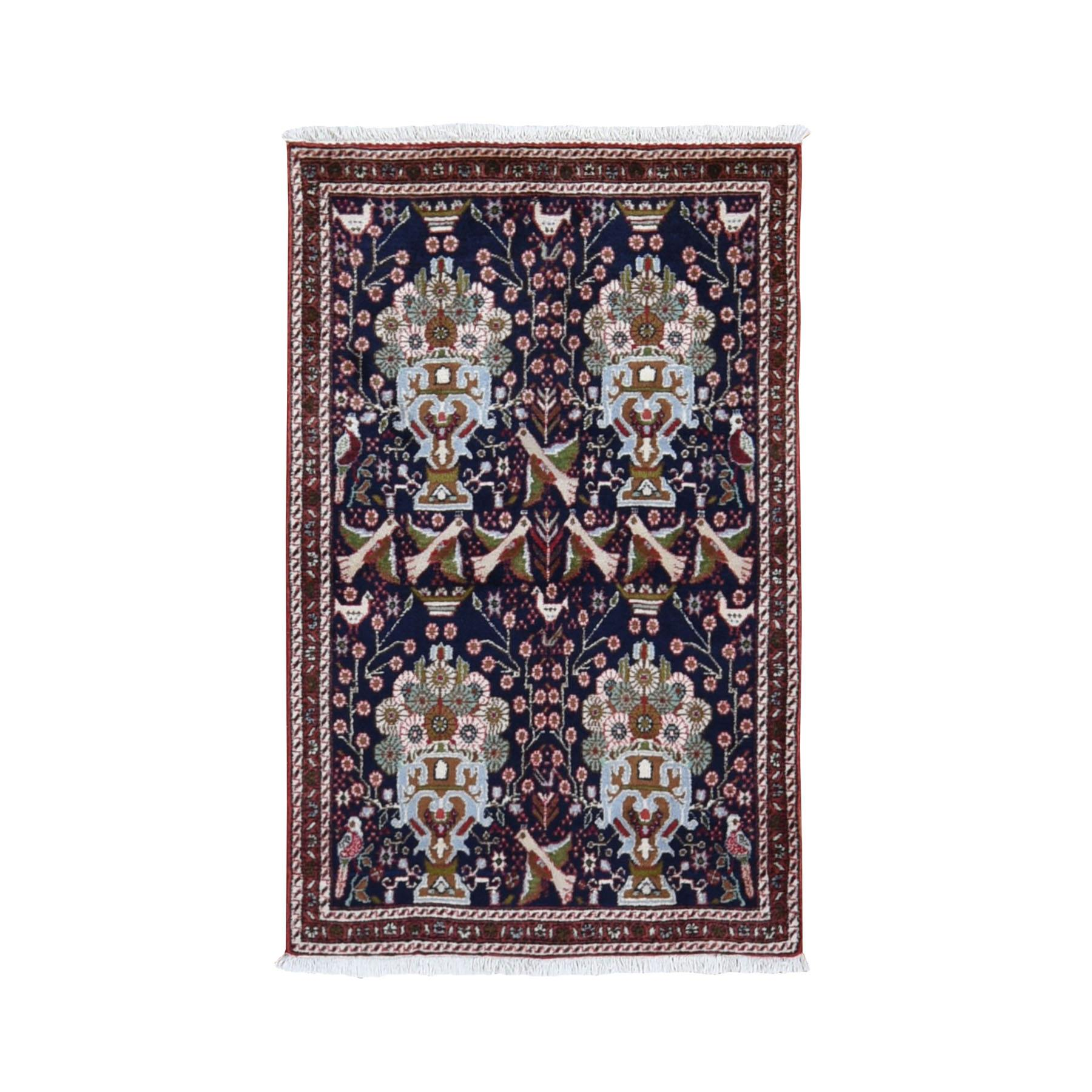 Classic Persian Collection Hand Knotted Blue Rug No: 199752