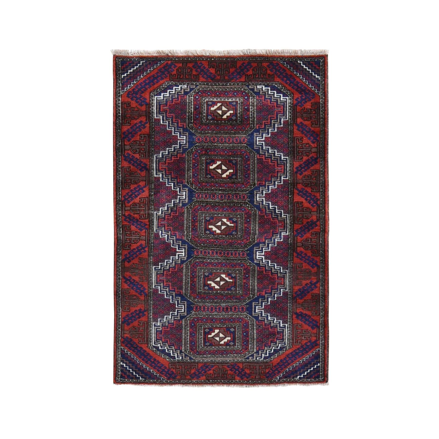 Classic Persian Collection Hand Knotted Red Rug No: 199756
