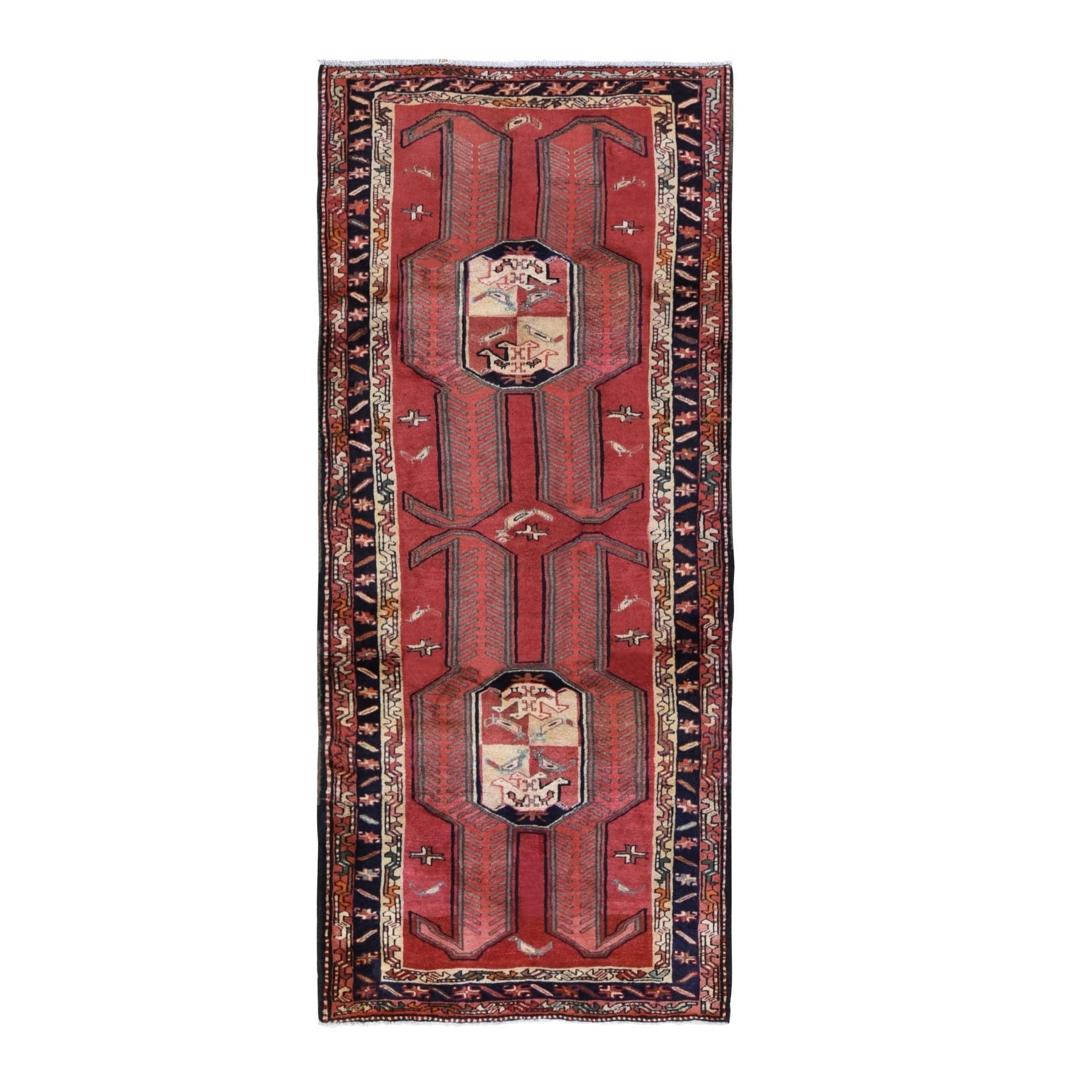Classic Persian Collection Hand Knotted Red Rug No: 0199794