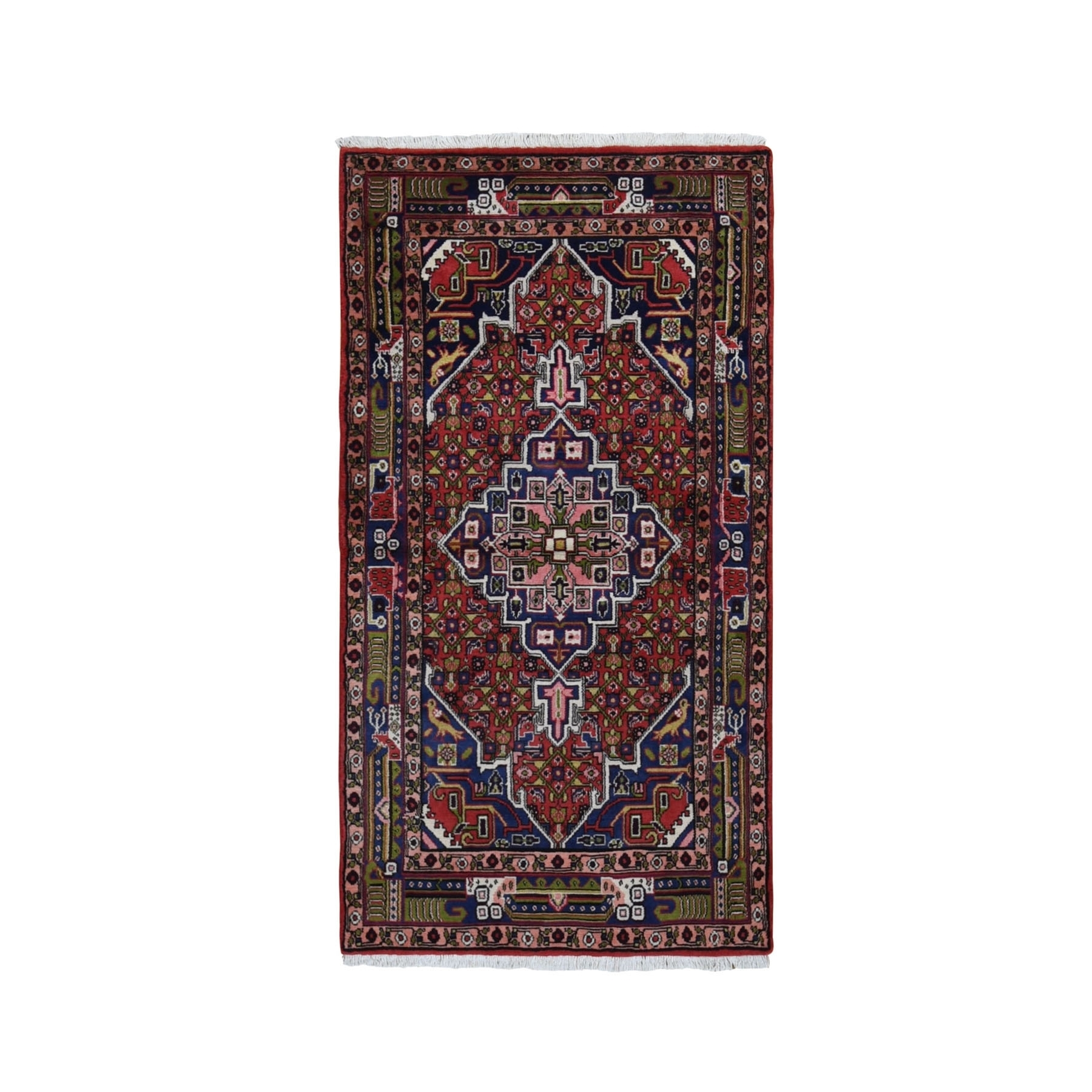 Classic Persian Collection Hand Knotted Red Rug No: 199802