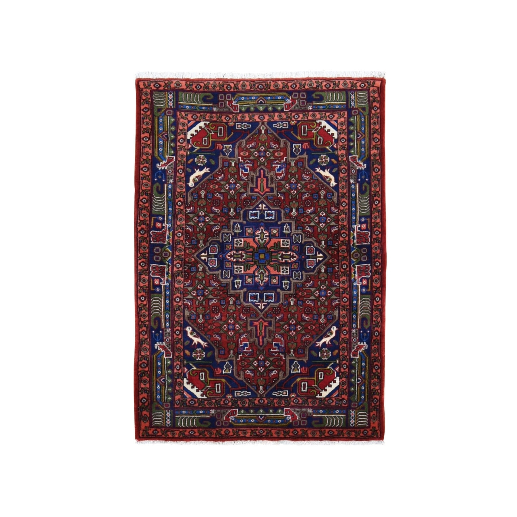 Classic Persian Collection Hand Knotted Red Rug No: 199806