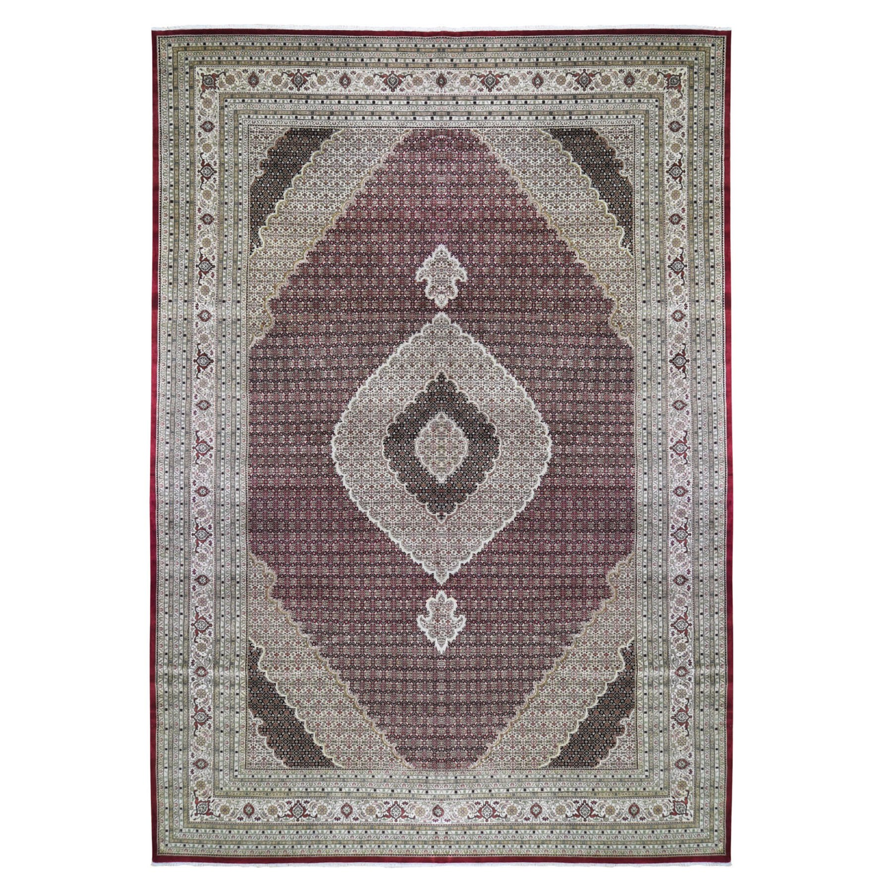 Pirniakan Collection Hand Knotted Red Rug No: 199810