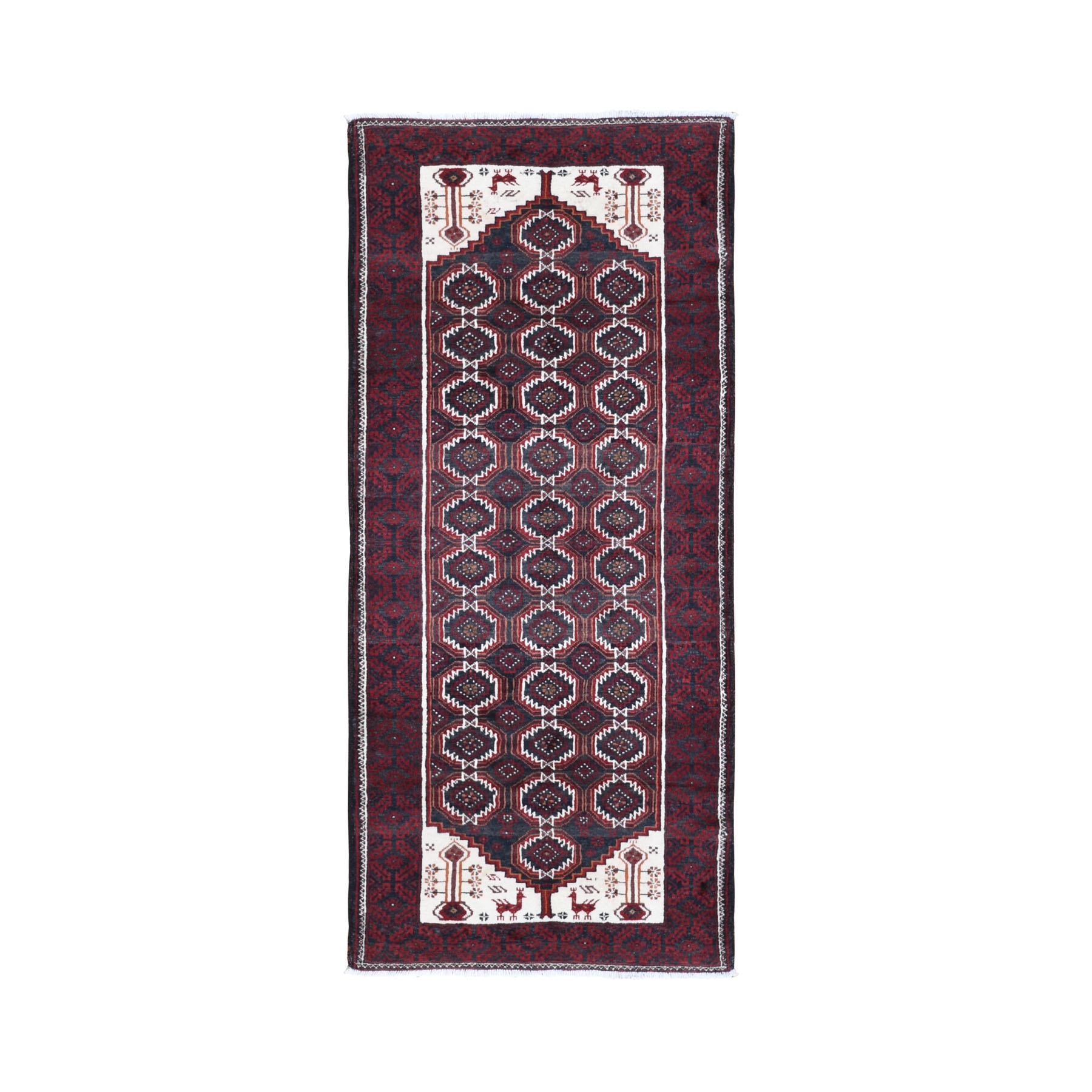Classic Persian Collection Hand Knotted Red Rug No: 0199820
