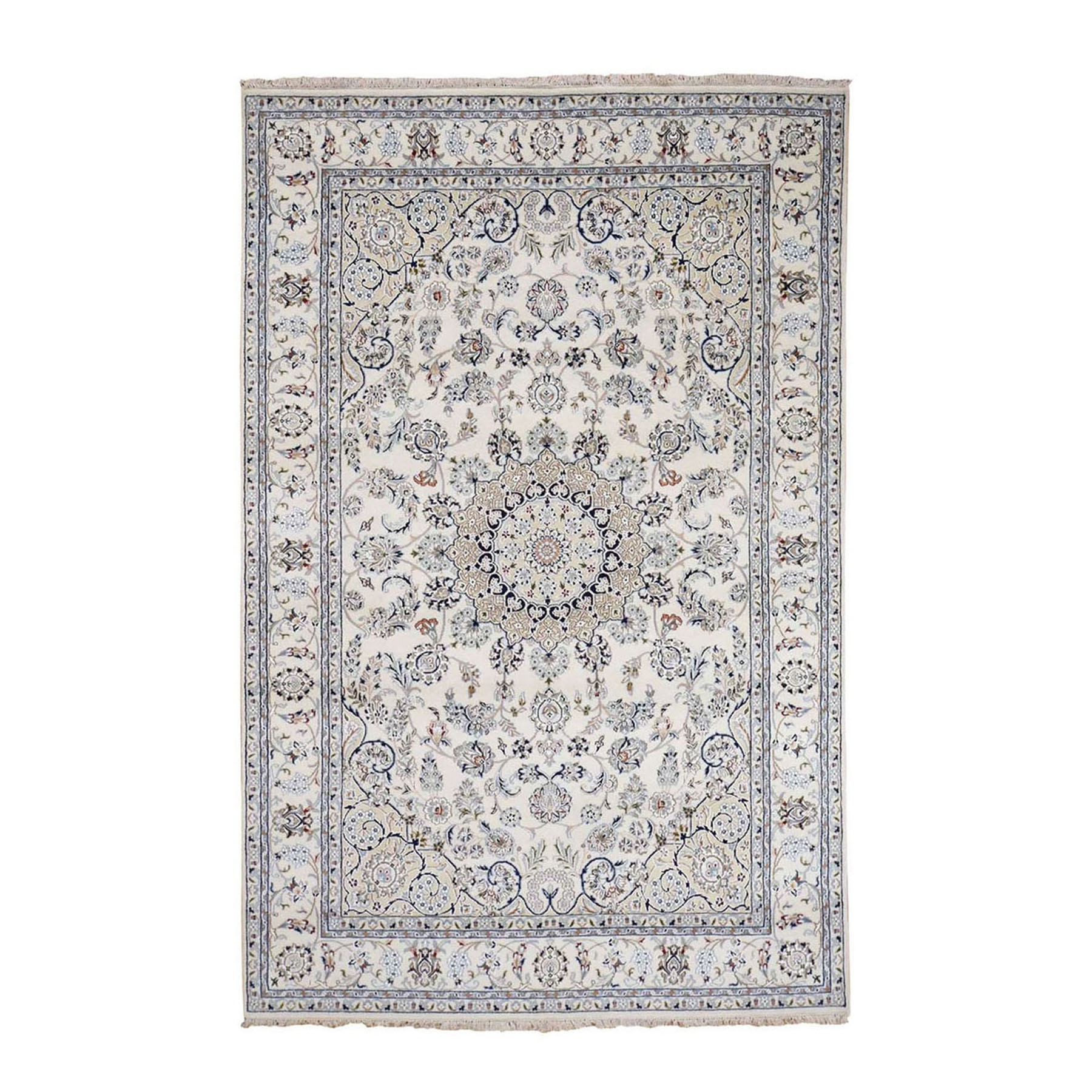 Pirniakan Collection Hand Knotted Ivory Rug No: 0199902