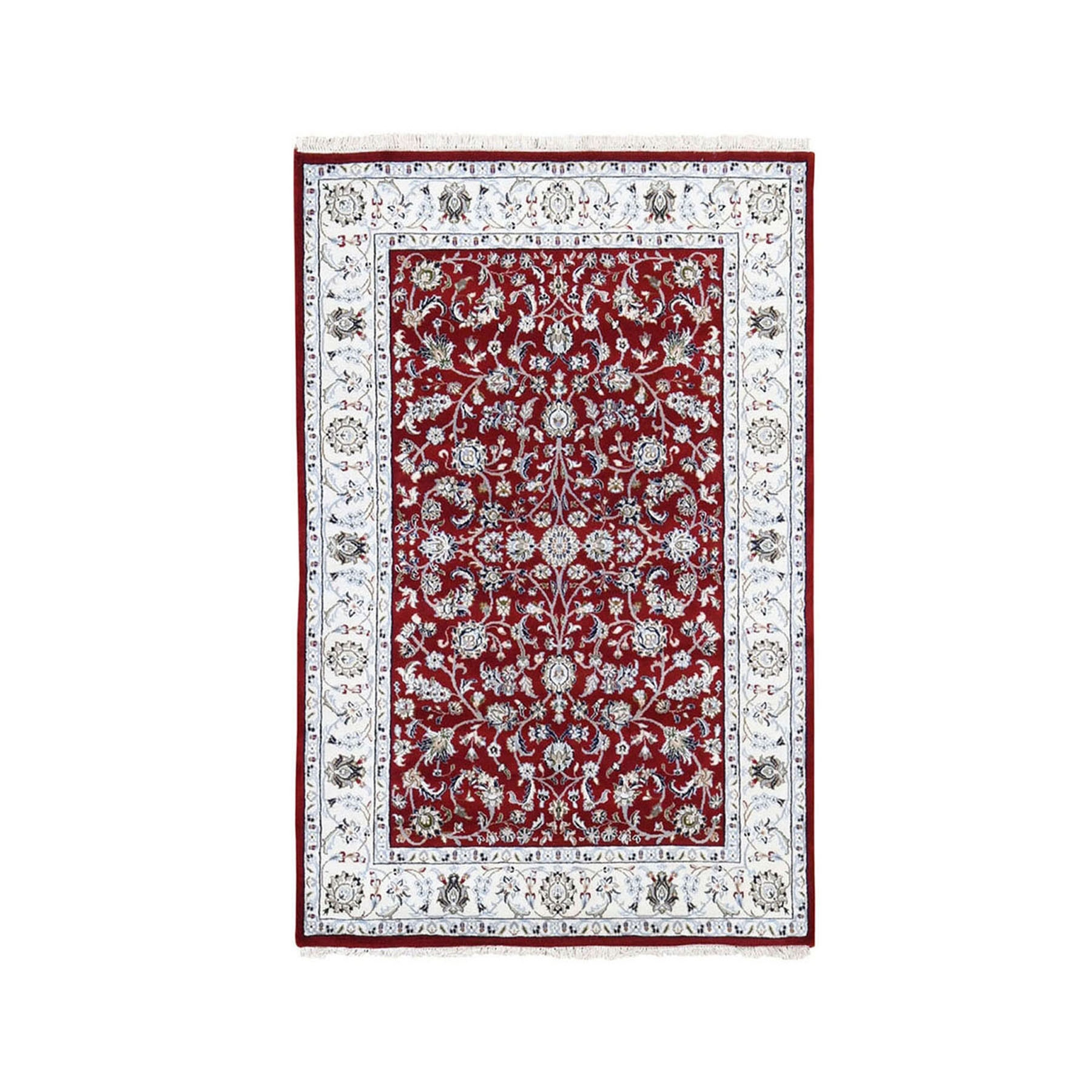 Pirniakan Collection Hand Knotted Red Rug No: 199928