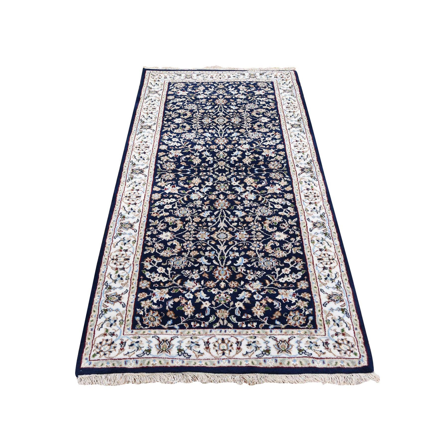 Pirniakan Collection Hand Knotted Blue Rug No: 0199950