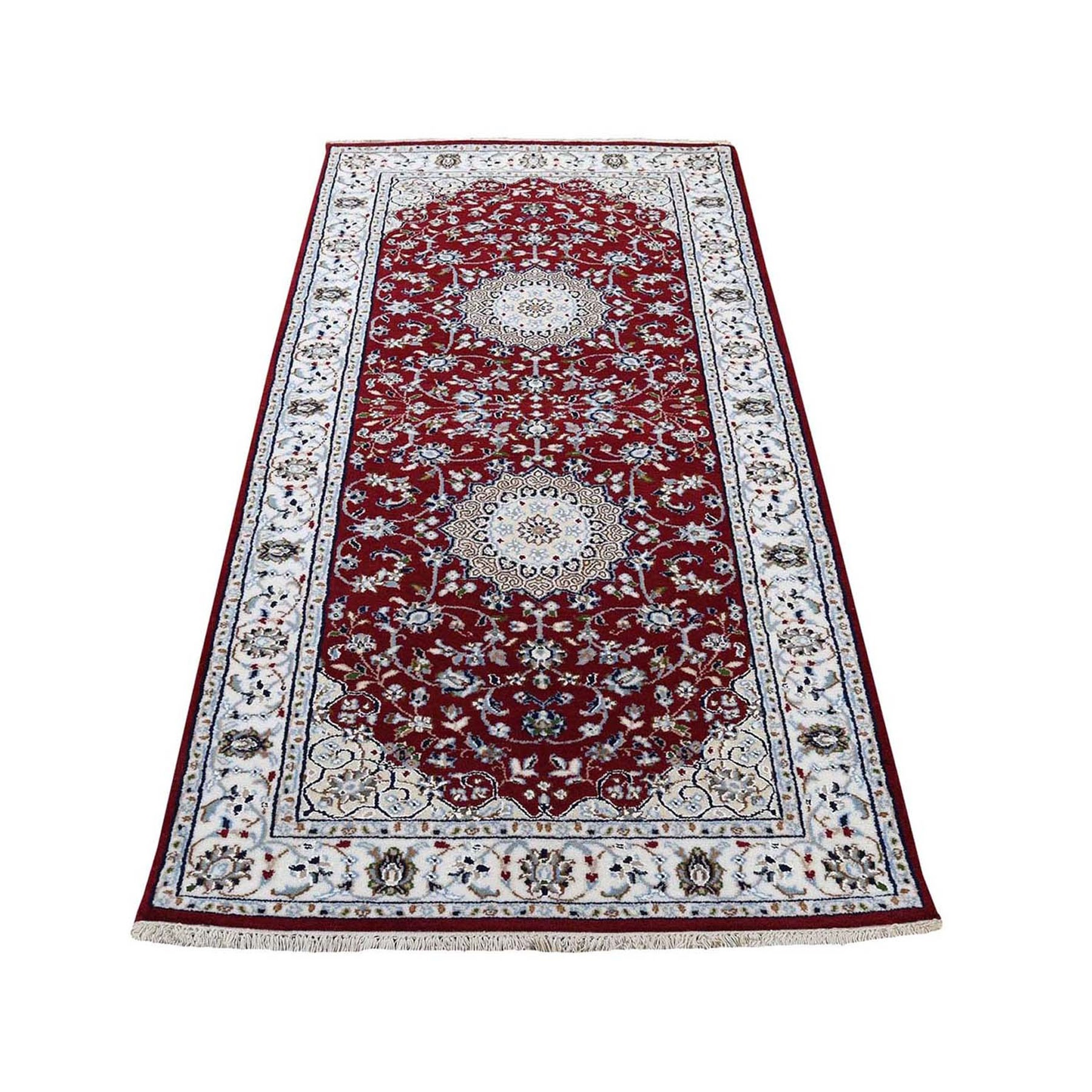 Pirniakan Collection Hand Knotted Red Rug No: 0199960