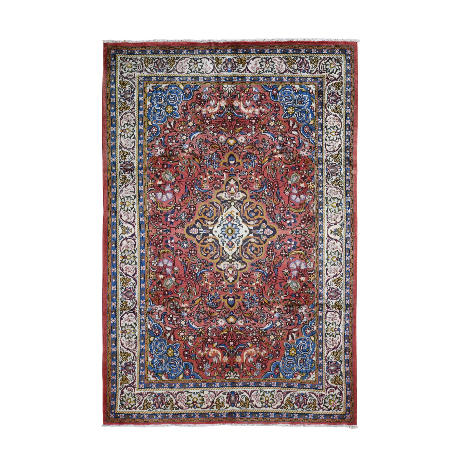 Classic Persian Collection Hand Knotted Red Rug No: 199832