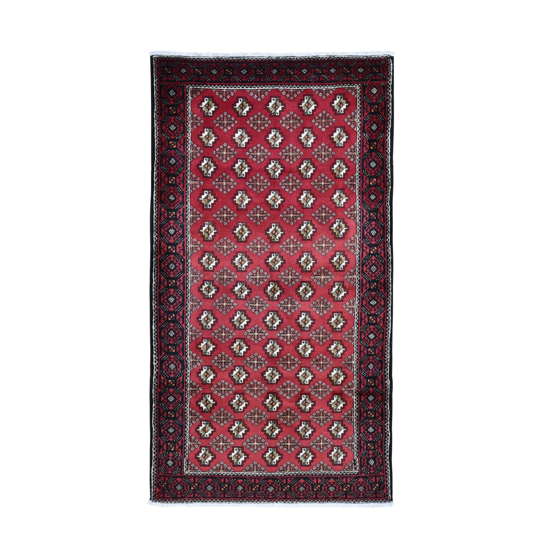 Classic Persian Collection Hand Knotted Red Rug No: 0199844