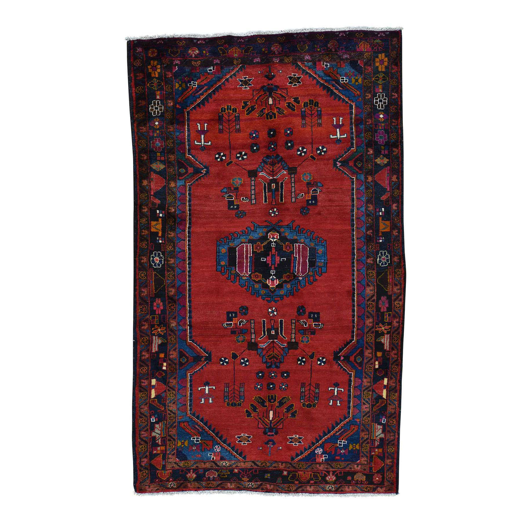Classic Persian Collection Hand Knotted Red Rug No: 172522