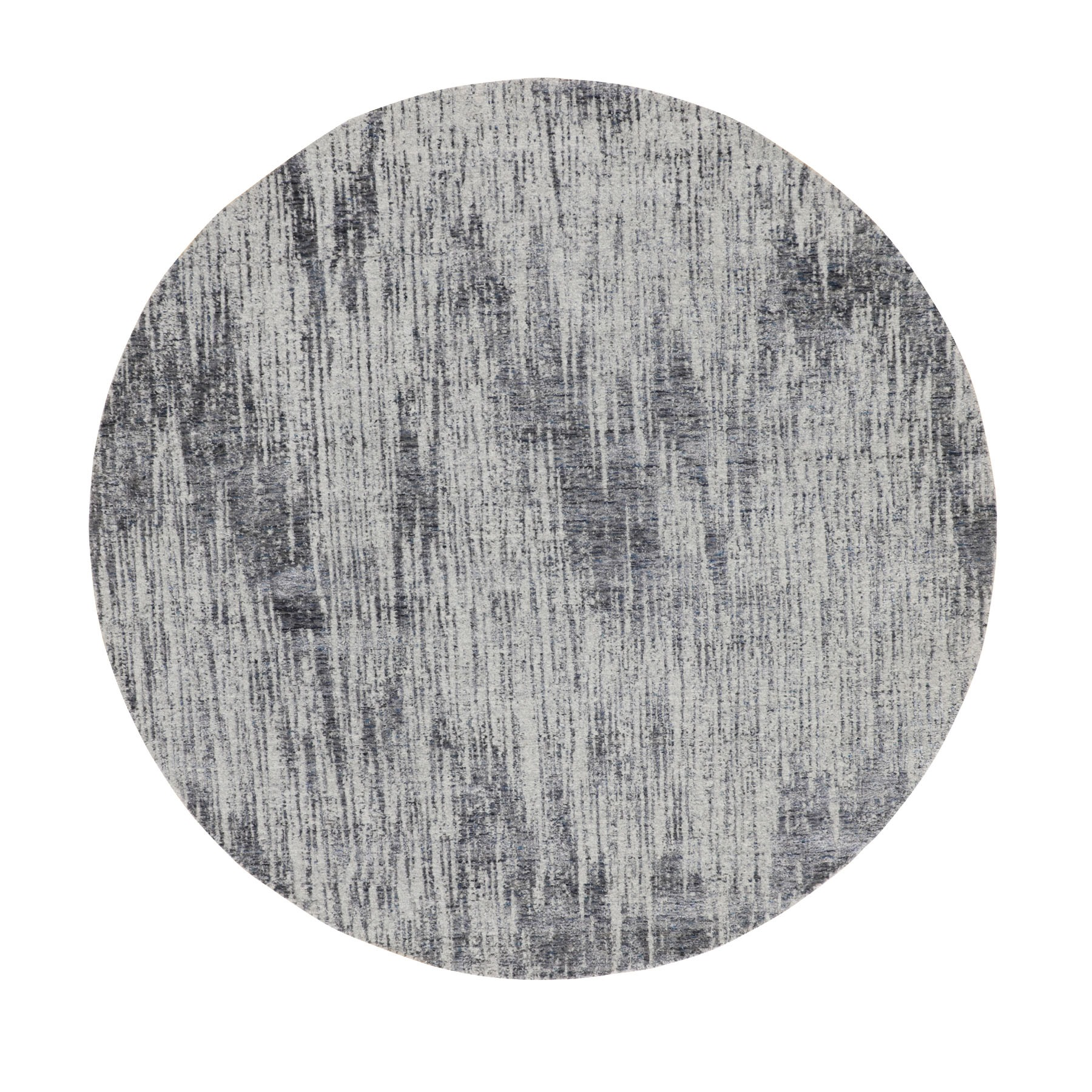 Mid Century Modern Collection Hand Loomed Grey Rug No: 01116250