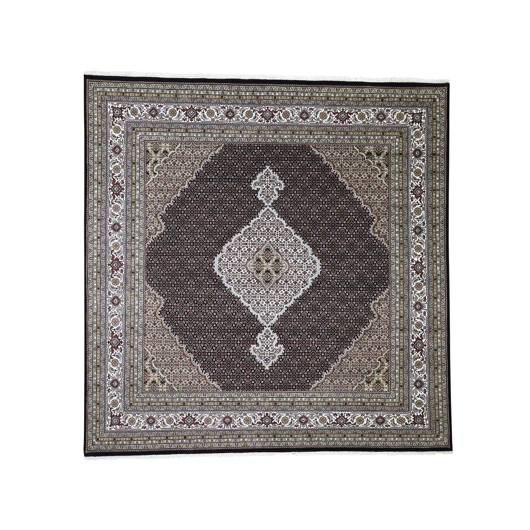 Pirniakan Collection Hand Knotted Black Rug No: 190038