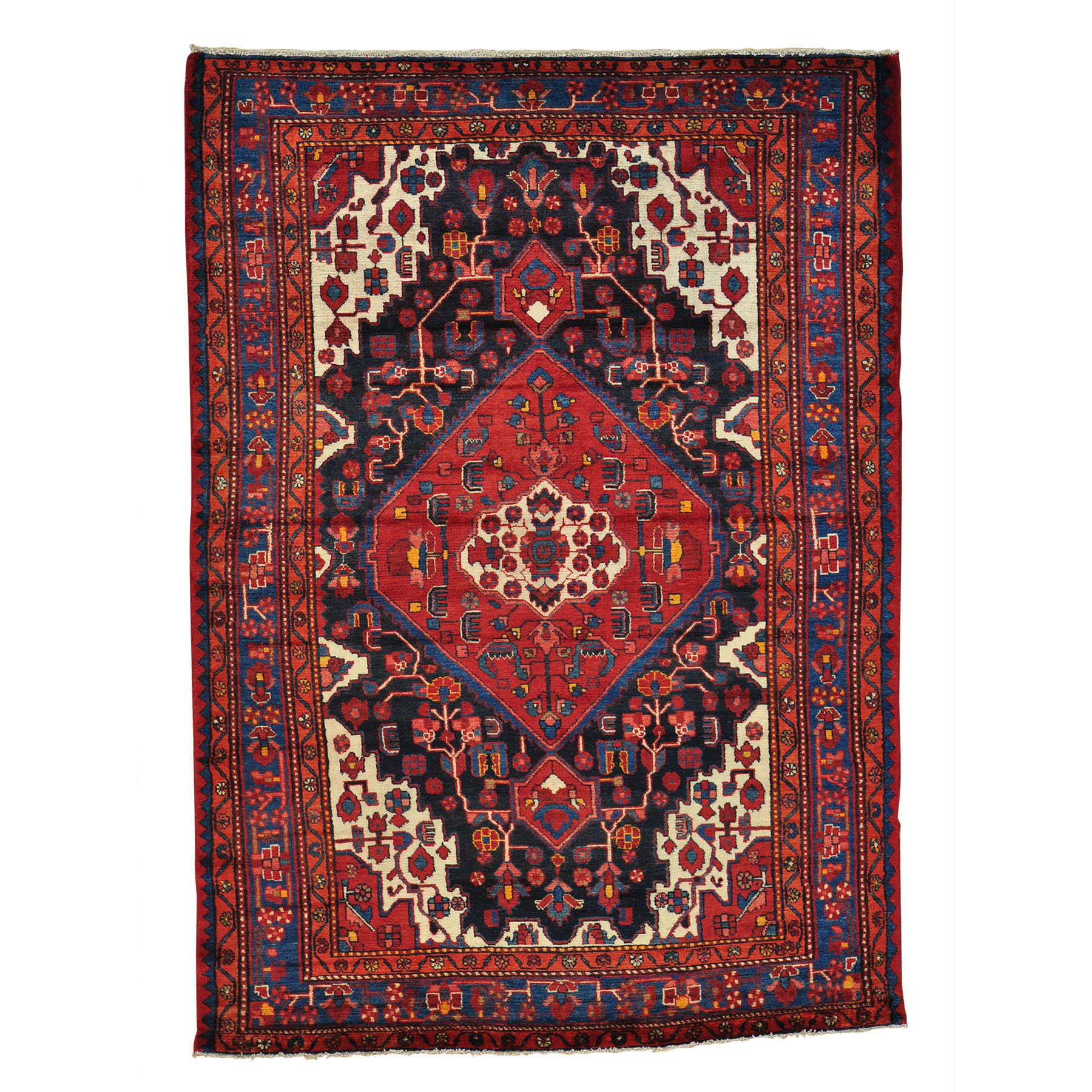 Classic Persian Collection Hand Knotted Black Rug No: 0149162