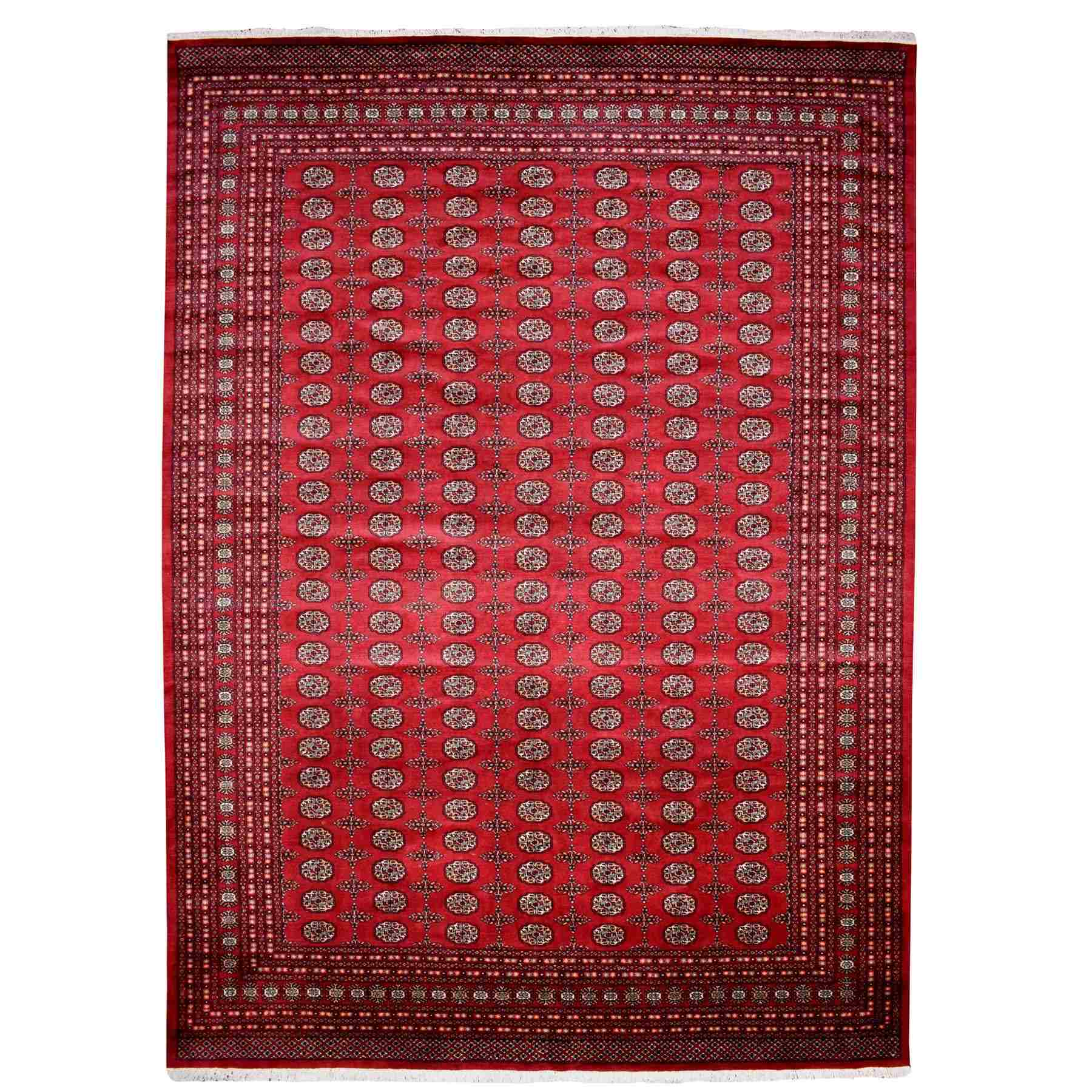 Nomadic And Village Collection Hand Knotted Red Rug No: 1110064