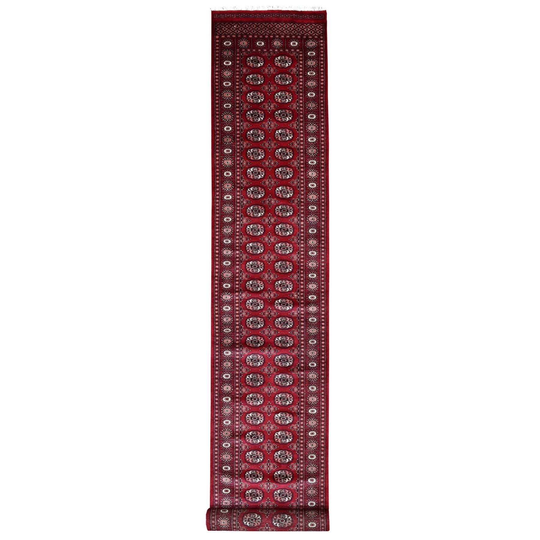 Nomadic And Village Collection Hand Knotted Red Rug No: 1110080