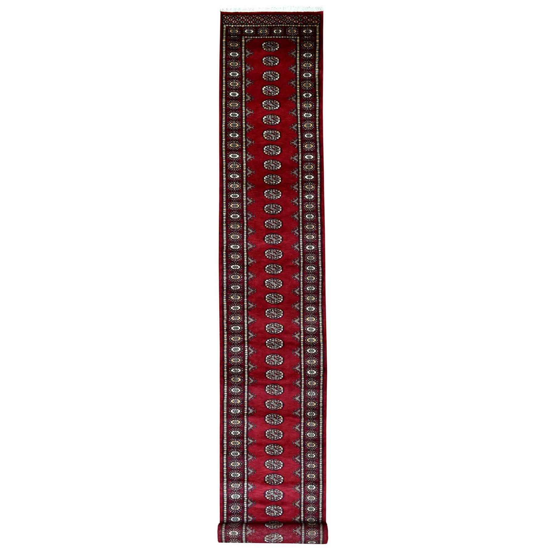 Nomadic And Village Collection Hand Knotted Red Rug No: 1110084