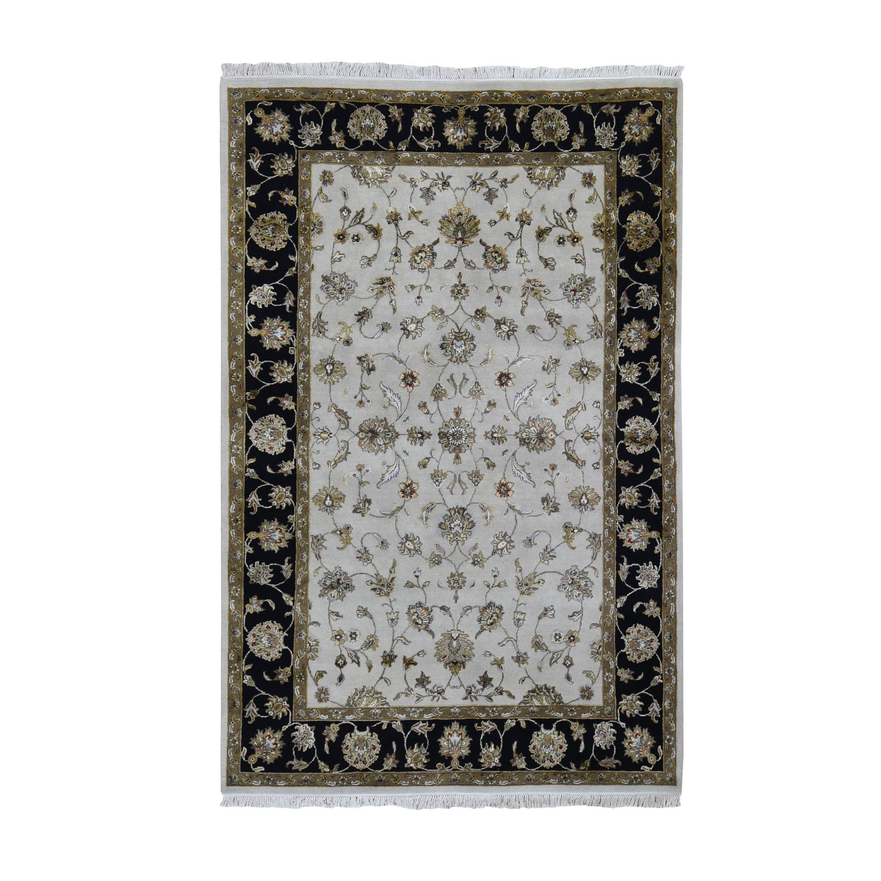 Pahlavi Collection Hand Knotted Ivory Rug No: 01118032