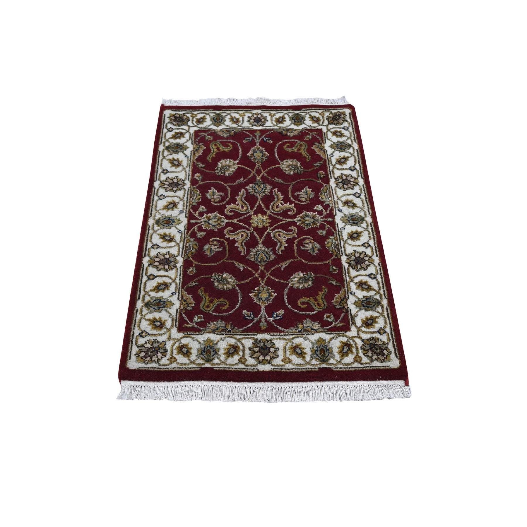 Pahlavi Collection Hand Knotted Red Rug No: 1118048