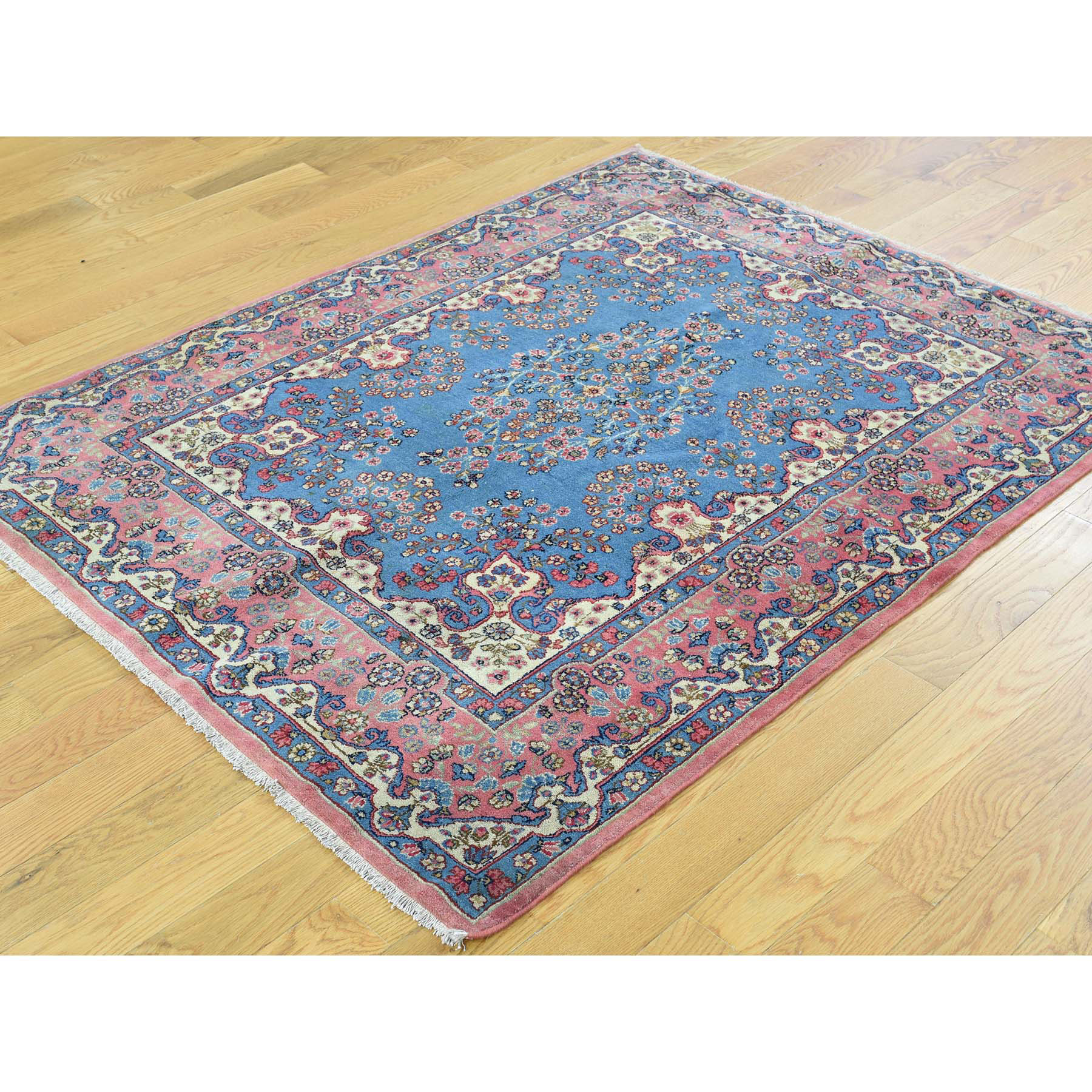 Antique Collection Hand Knotted Blue 0164316 Rug