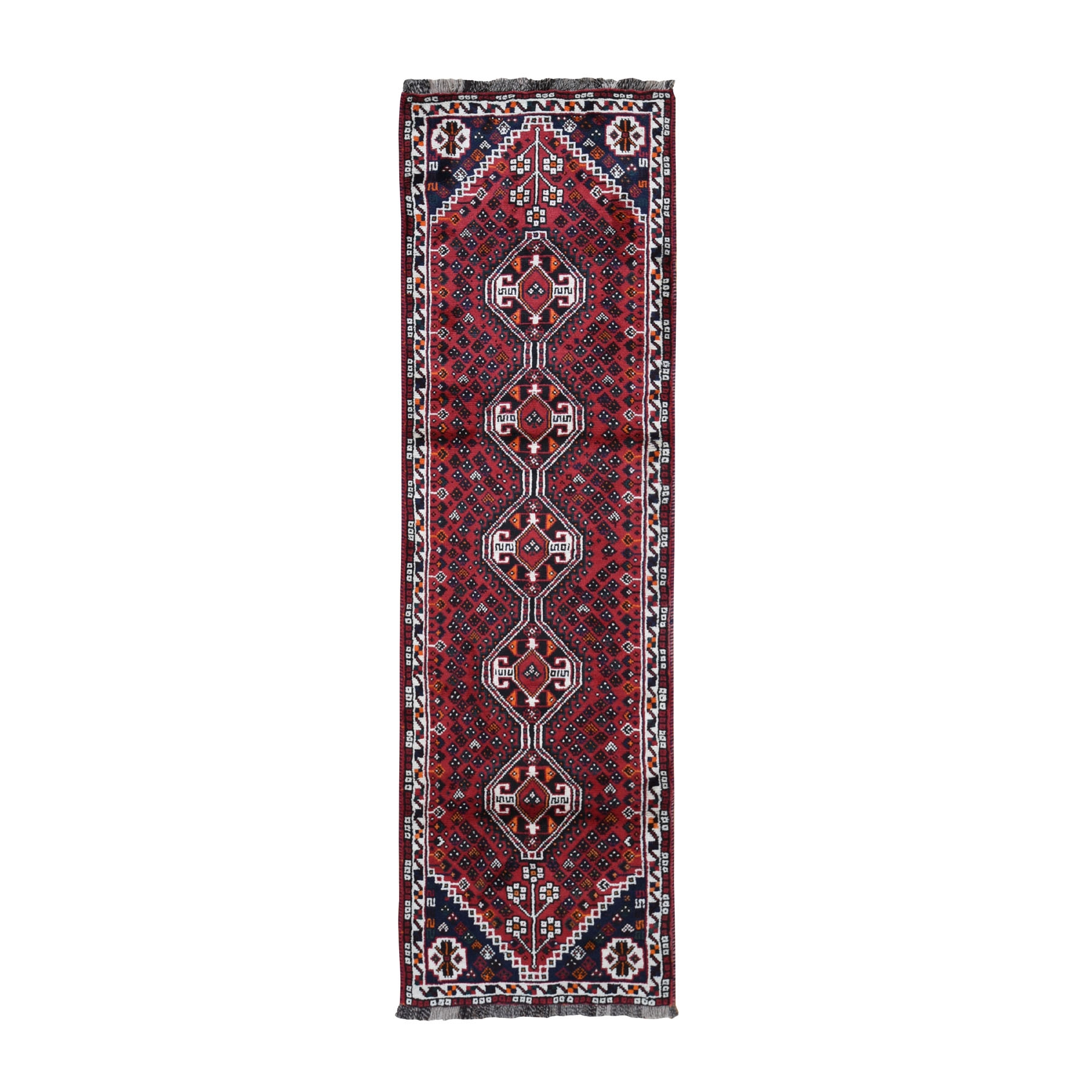 Classic Persian Collection Hand Knotted Red Rug No: 0199868