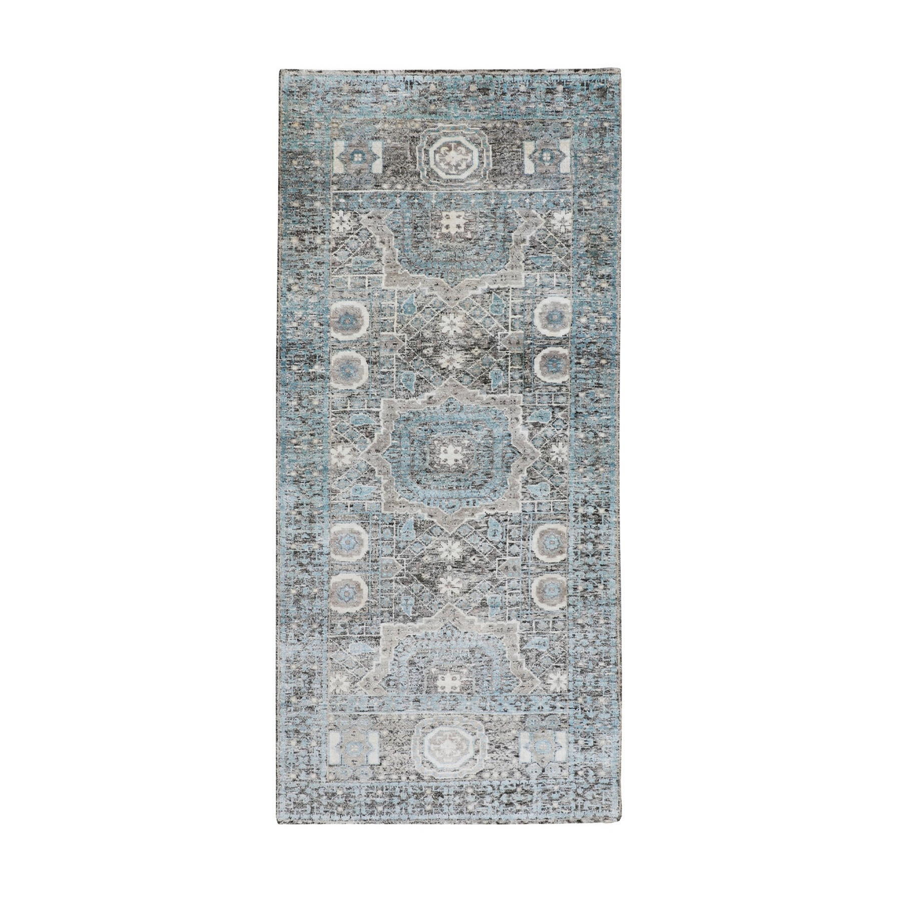 Intricate Collection Hand Knotted Brown Rug No: 1116362