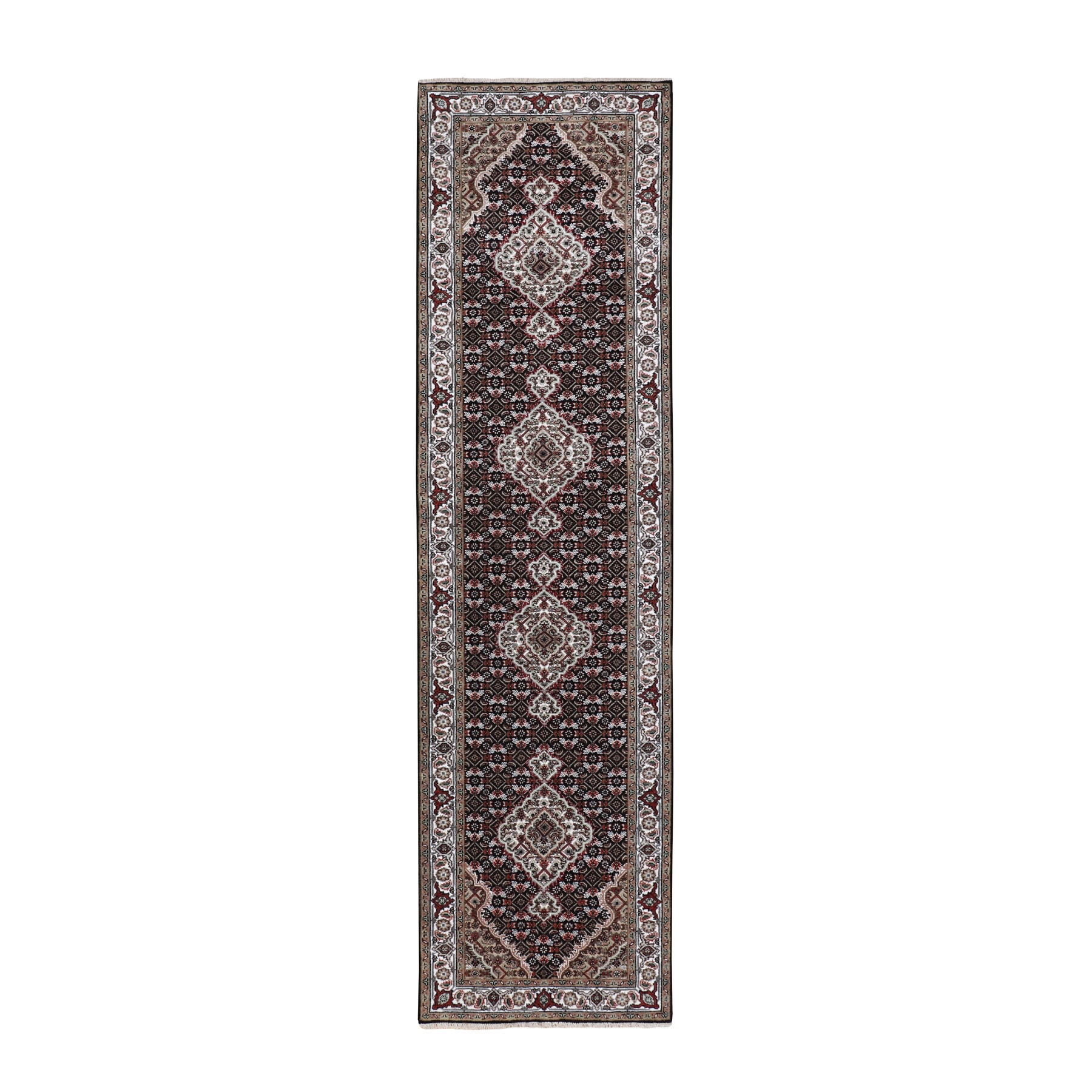 Pirniakan Collection Hand Knotted Black Rug No: 01116588