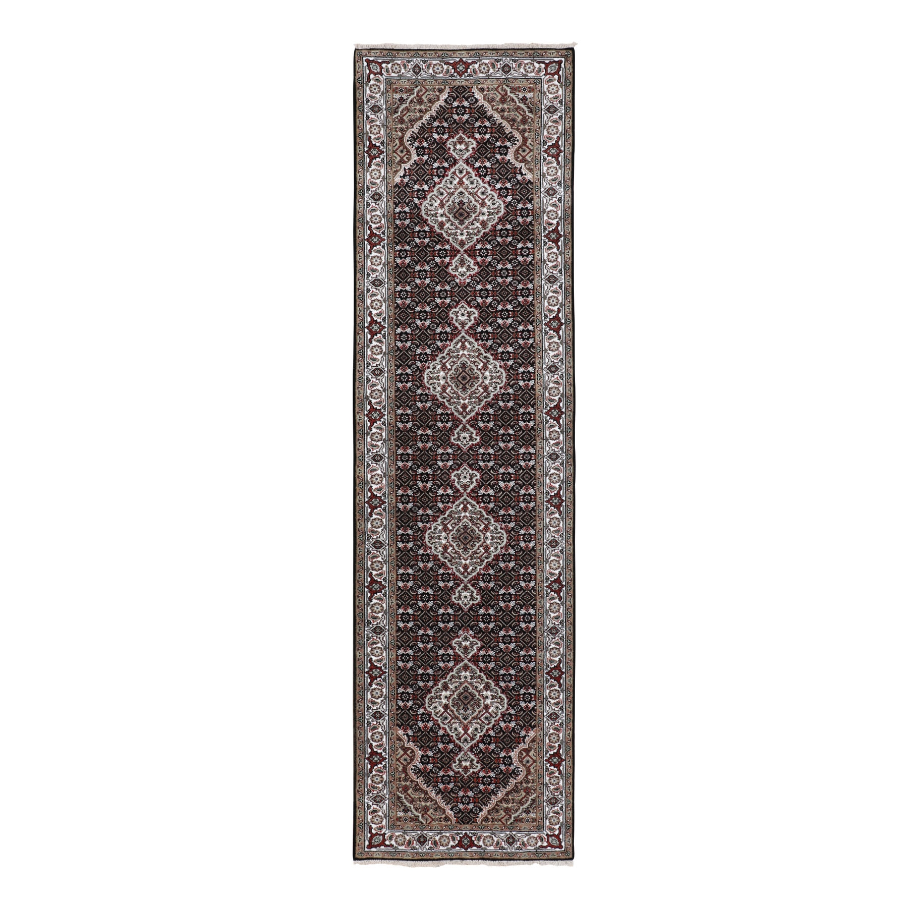 Pirniakan Collection Hand Knotted Black Rug No: 01116596