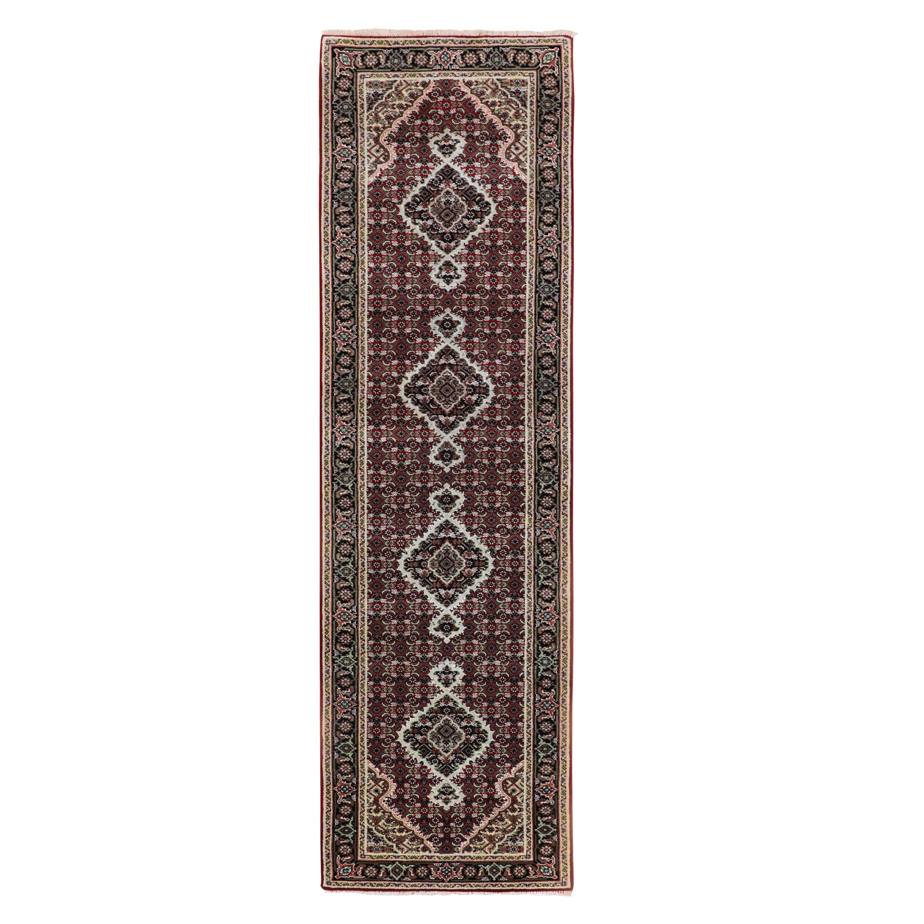 Pirniakan Collection Hand Knotted Red Rug No: 01116638