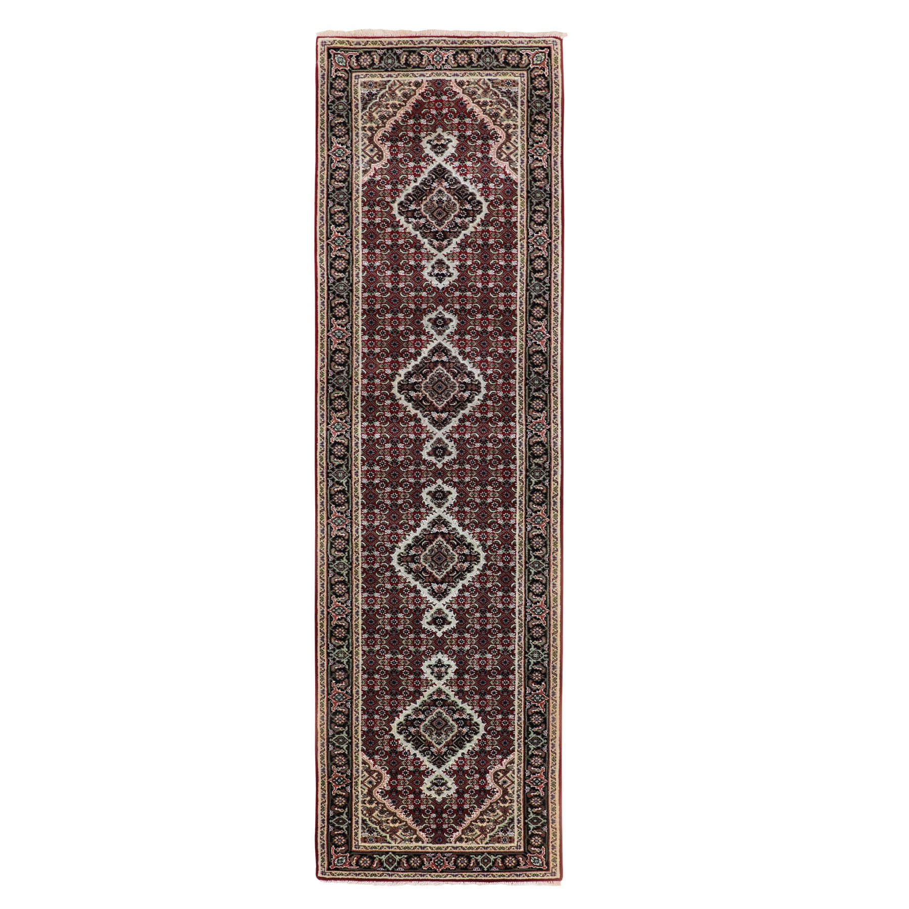 Pirniakan Collection Hand Knotted Red Rug No: 01116640
