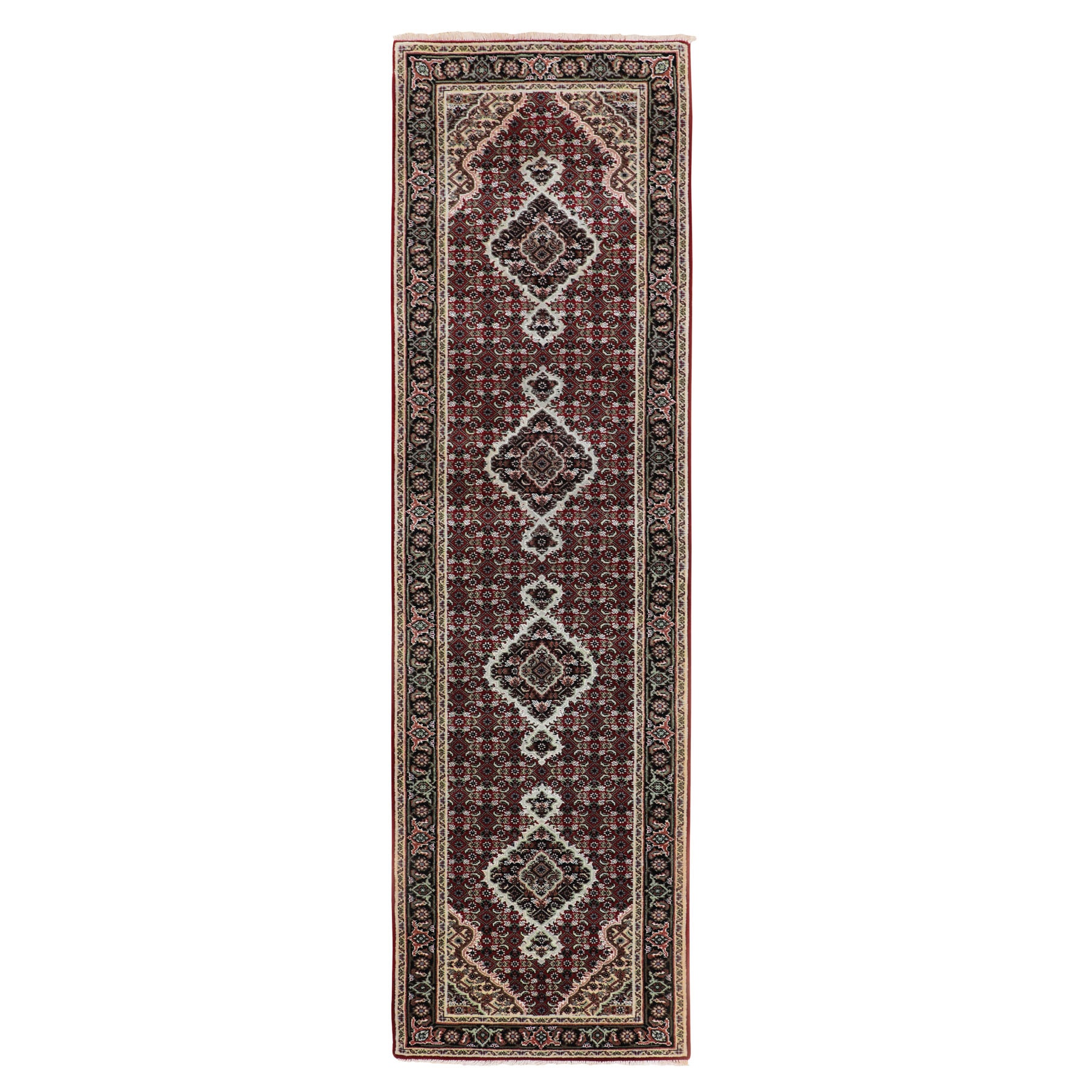 Pirniakan Collection Hand Knotted Red Rug No: 01116642