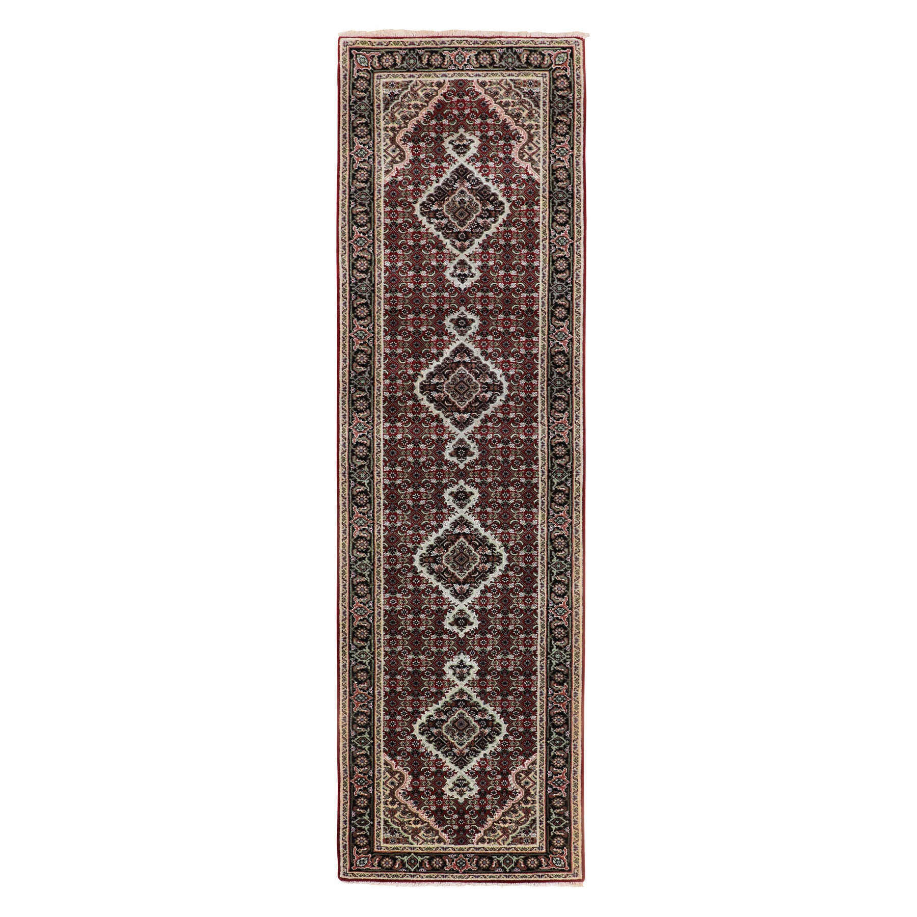 Pirniakan Collection Hand Knotted Red Rug No: 01116644