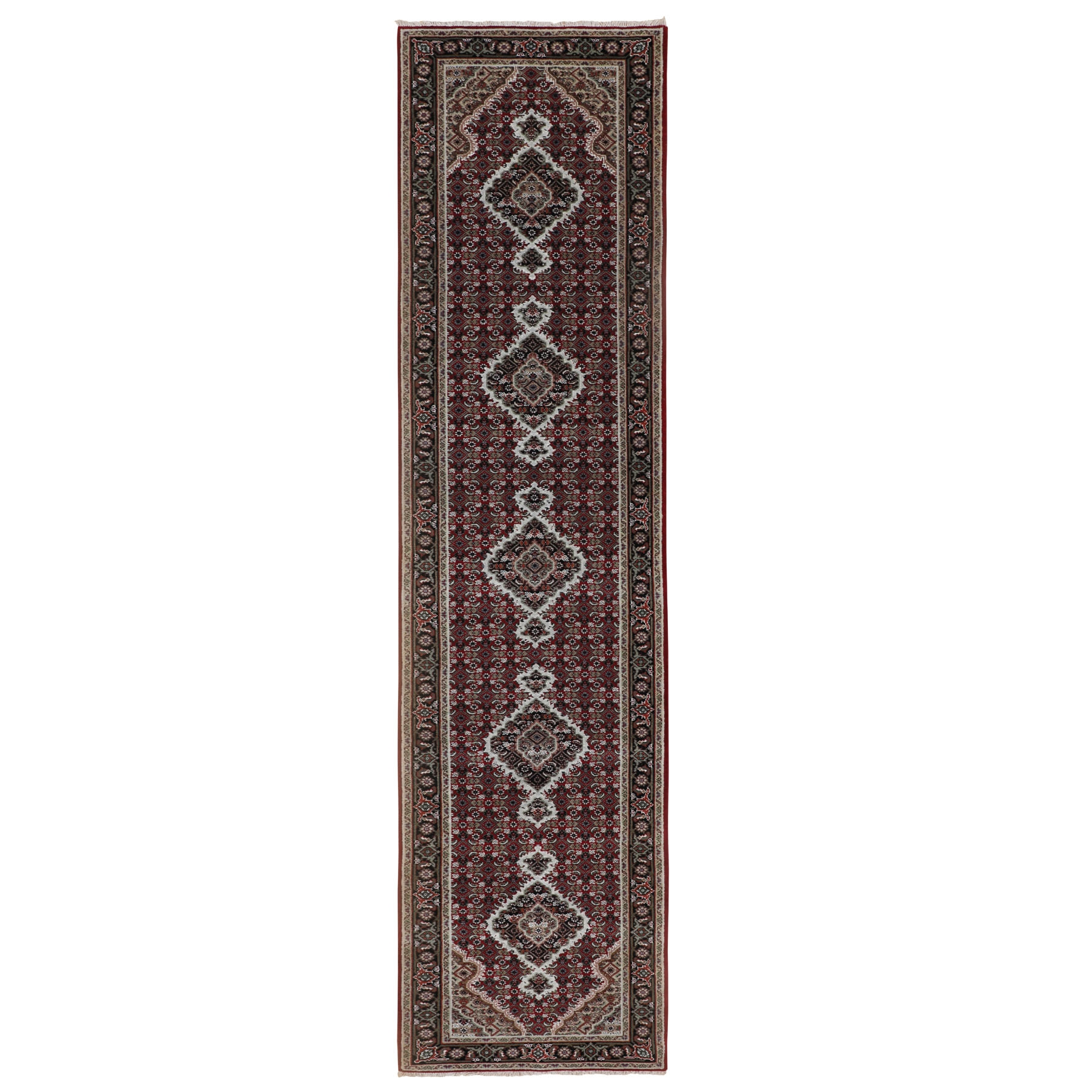 Pirniakan Collection Hand Knotted Red Rug No: 01116646