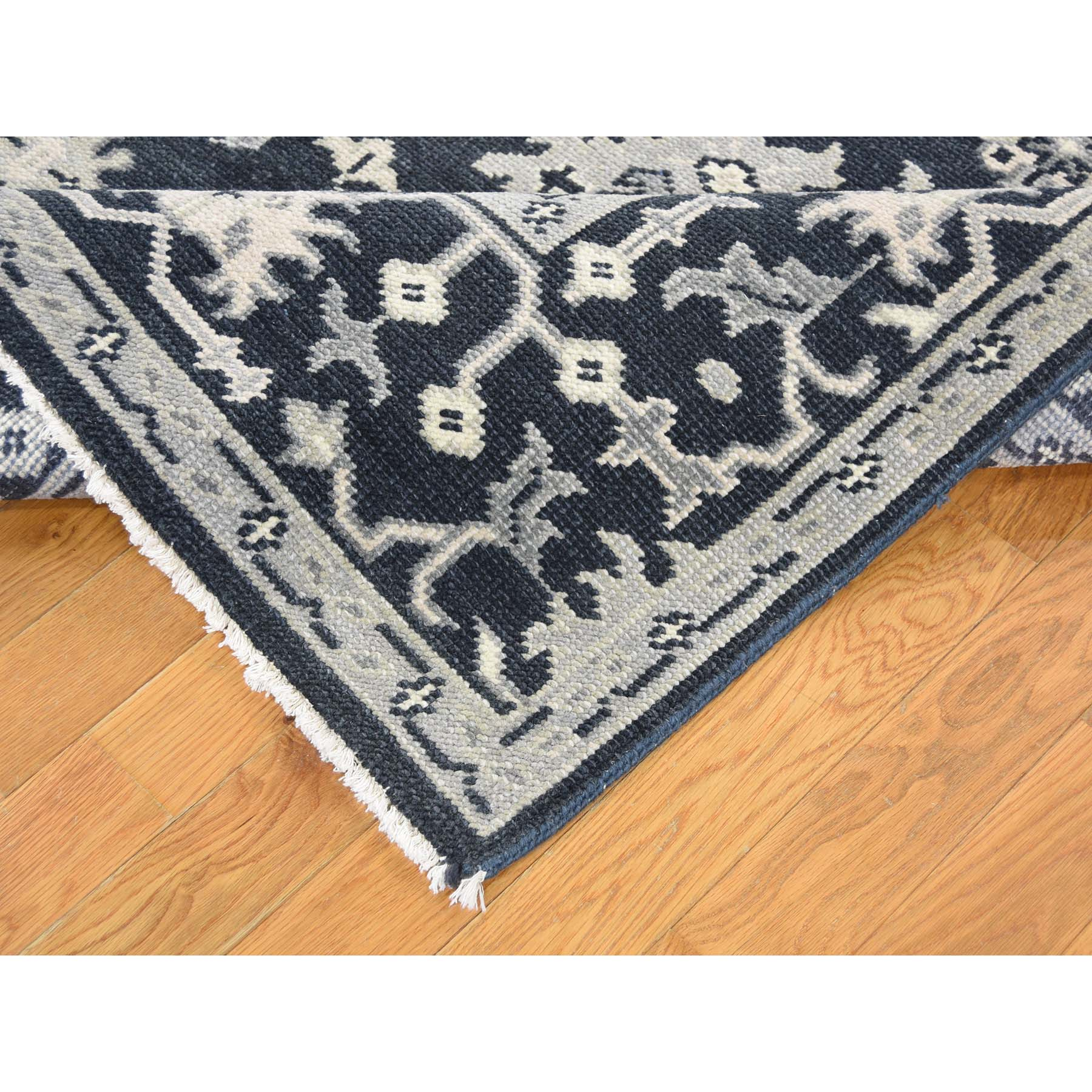 Agra And Turkish Collection Hand Knotted Blue 0180744 Rug