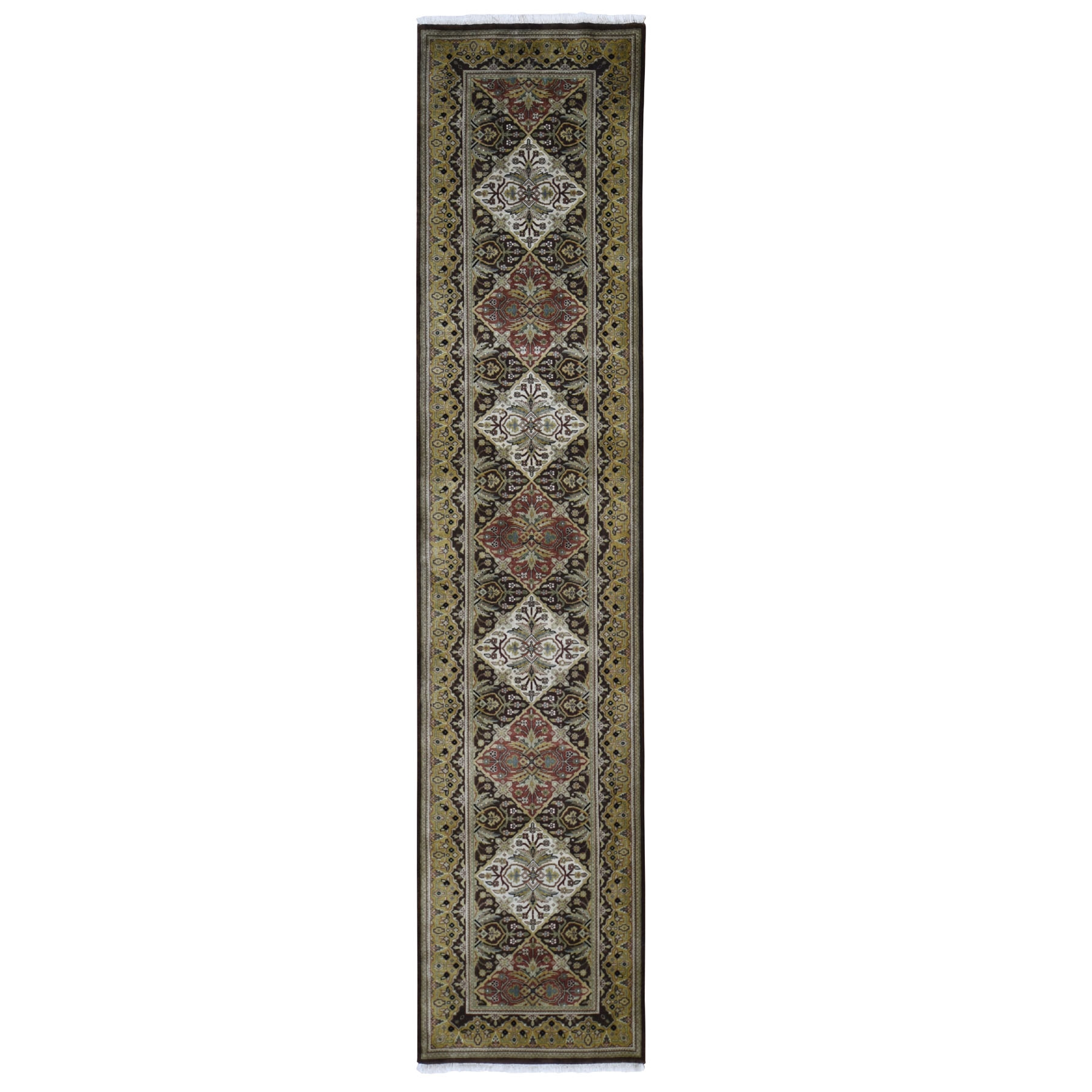 Pirniakan Collection Hand Knotted Brown Rug No: 1118402